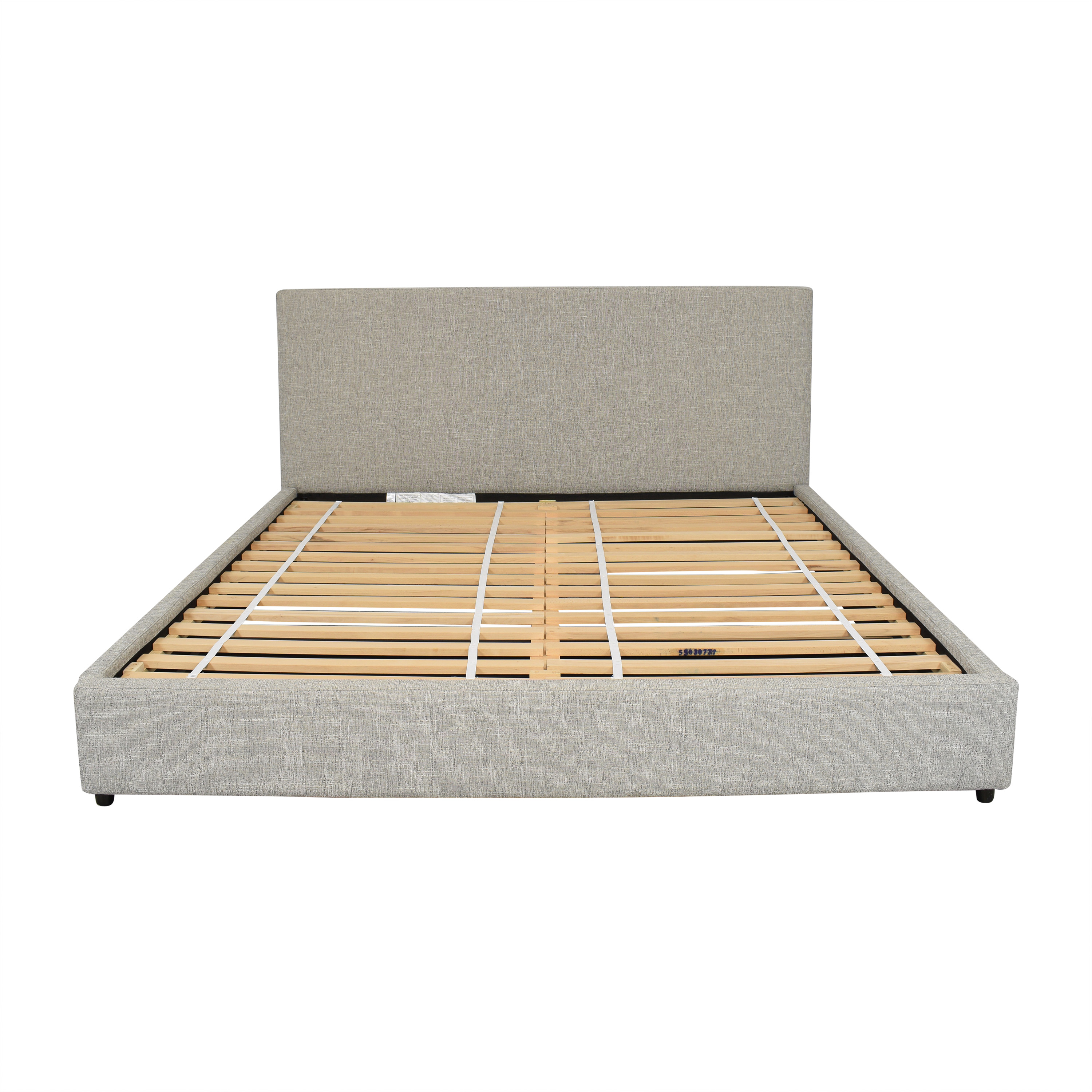 West Elm West Elm Contemporary Upholstered Storage King Bed dimensions