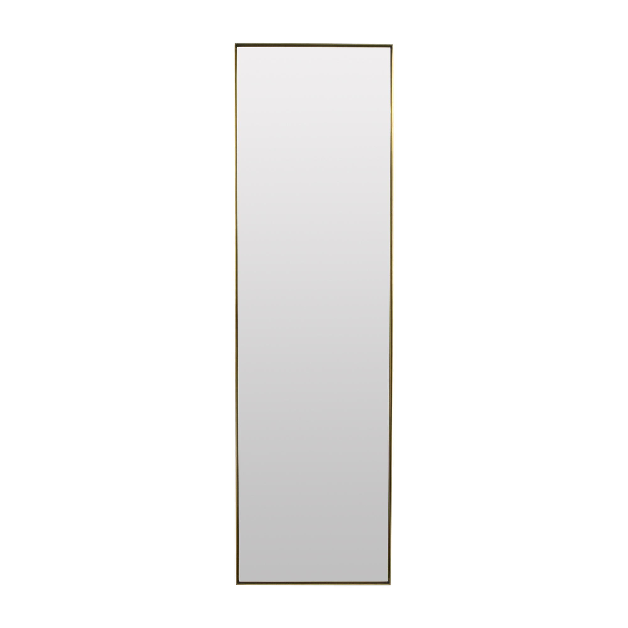 """Restoration Hardware Restoration Hardware Metal Dovetail Leaner Mirror 24"""" x 80"""" discount"""