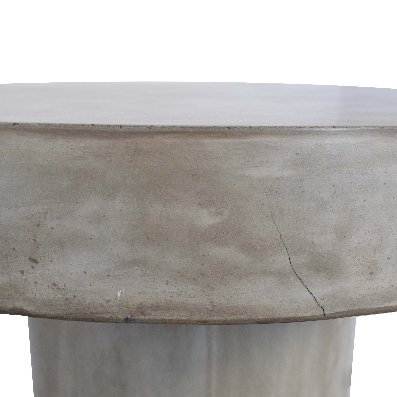 CB2 CB2 Fuze Concrete Bistro Table nj