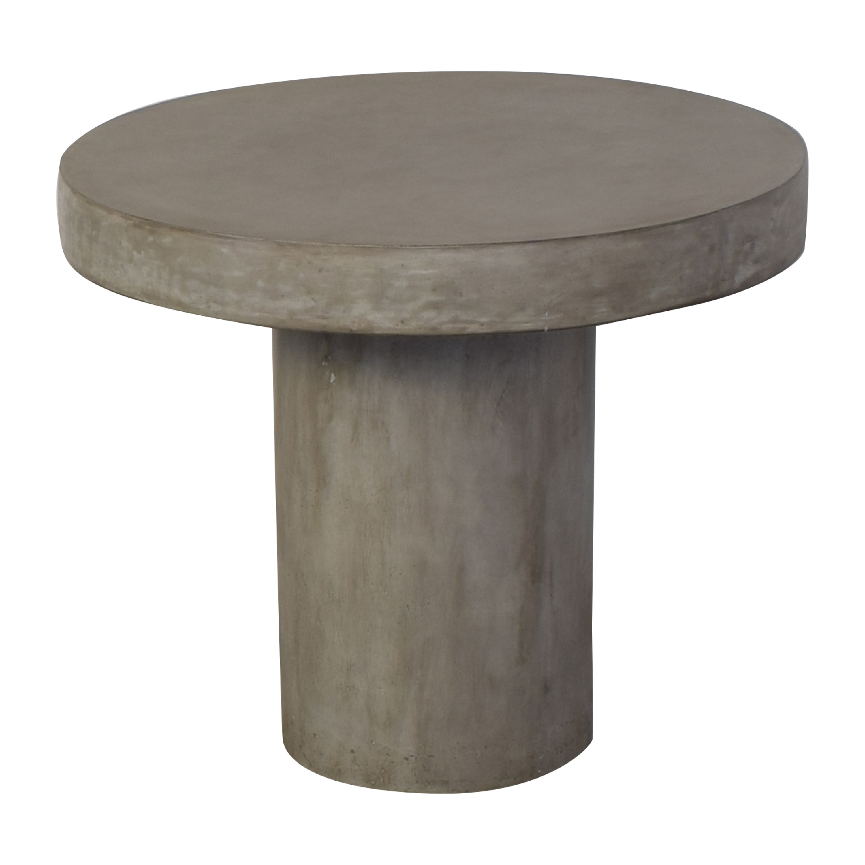 CB2 CB2 Fuze Concrete Bistro Table pa