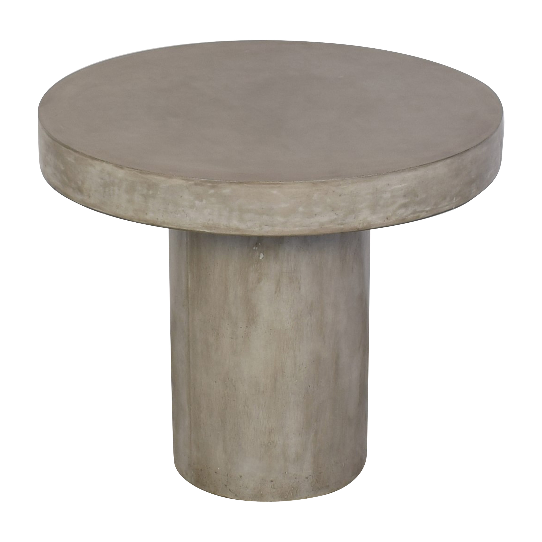 CB2 CB2 Fuze Concrete Bistro Table used