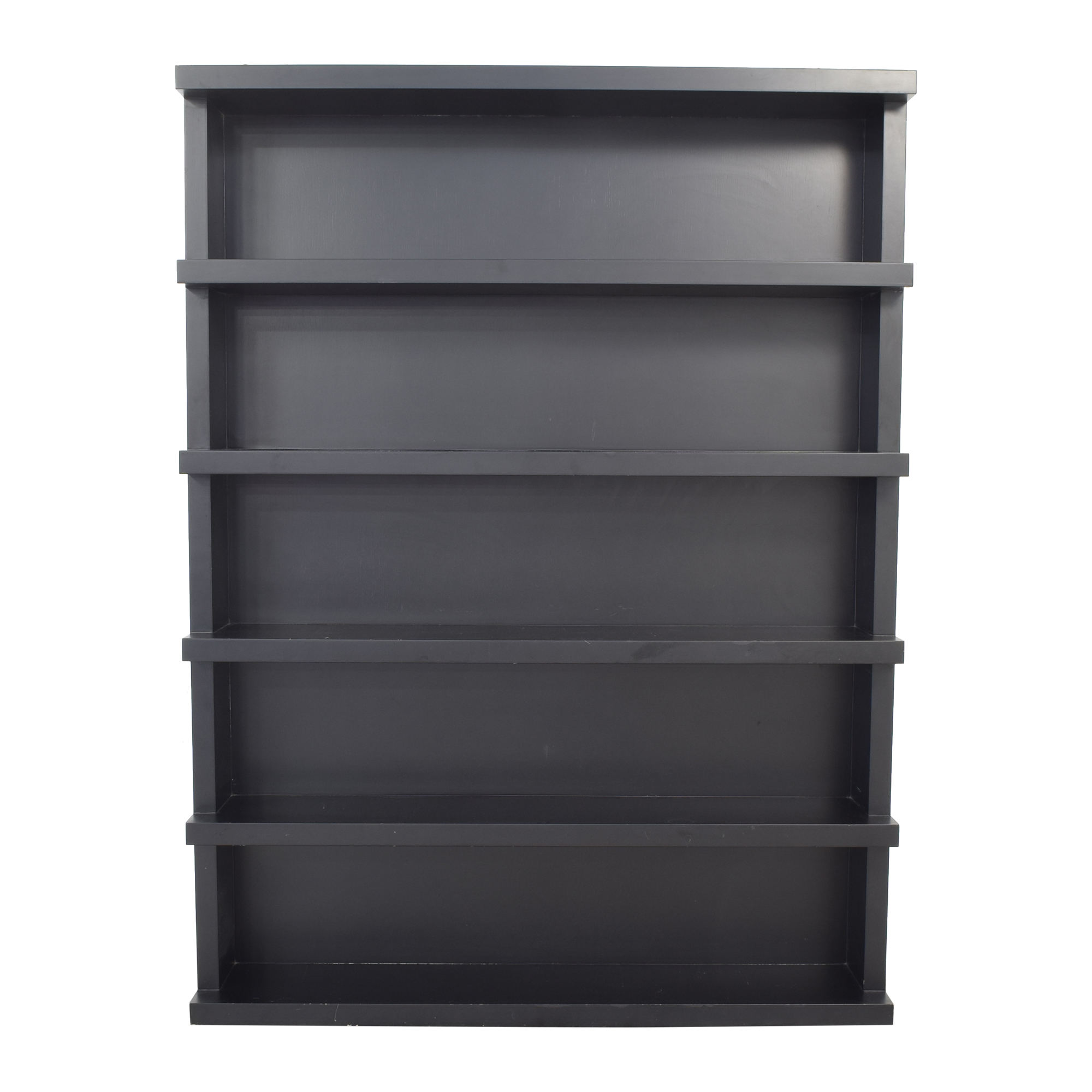 shop Vesta Home Five Shelf Bookcase Vesta Home Bookcases & Shelving