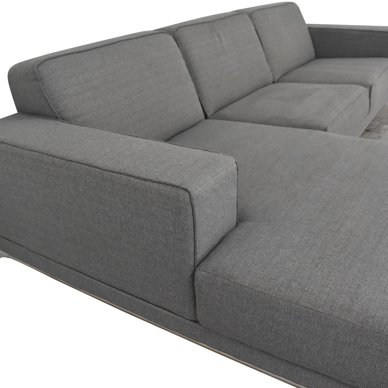 Wade Logan Wade Logan Matawan Sectional Sofa price