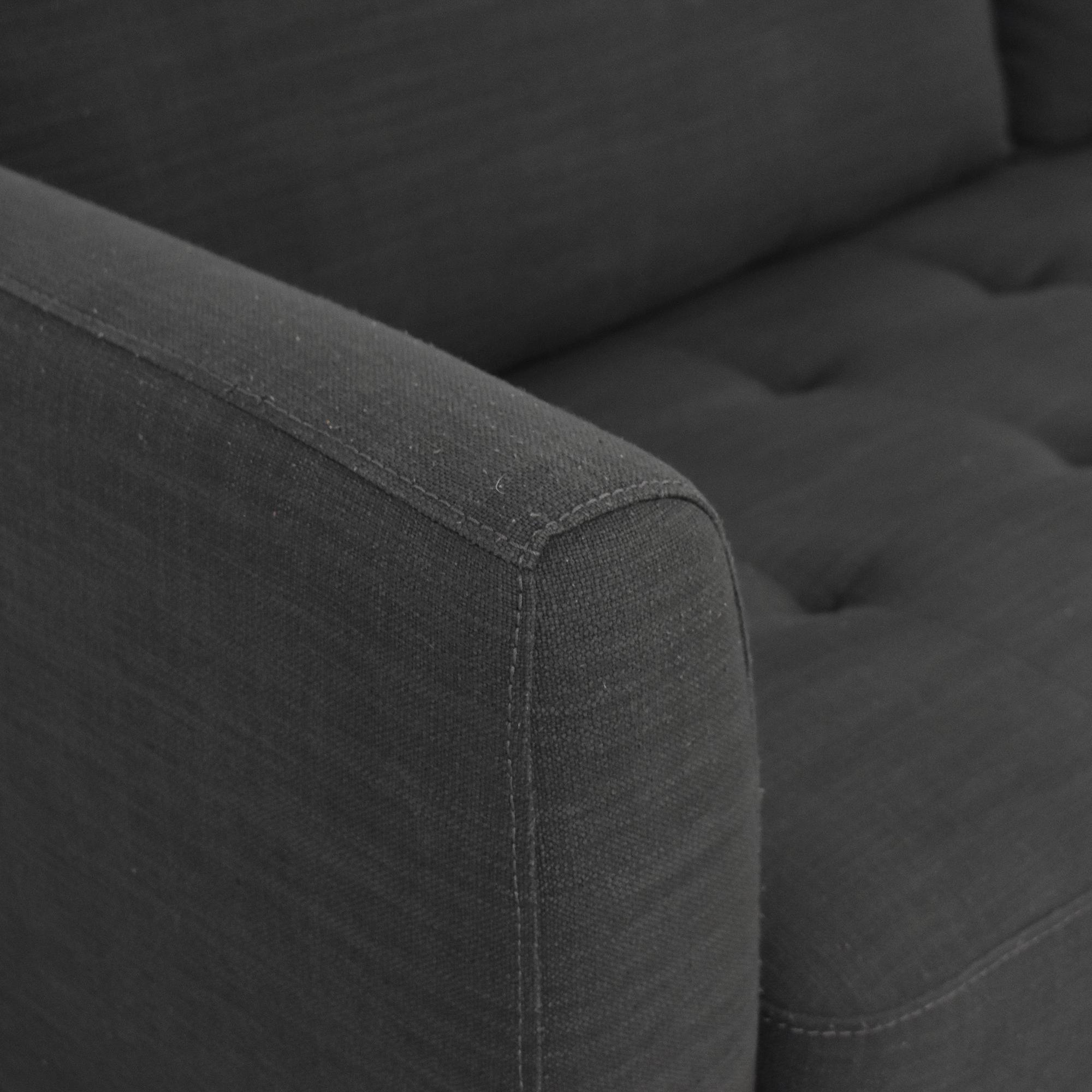 Macy's Macy's Mid Century Modern Sofa for sale