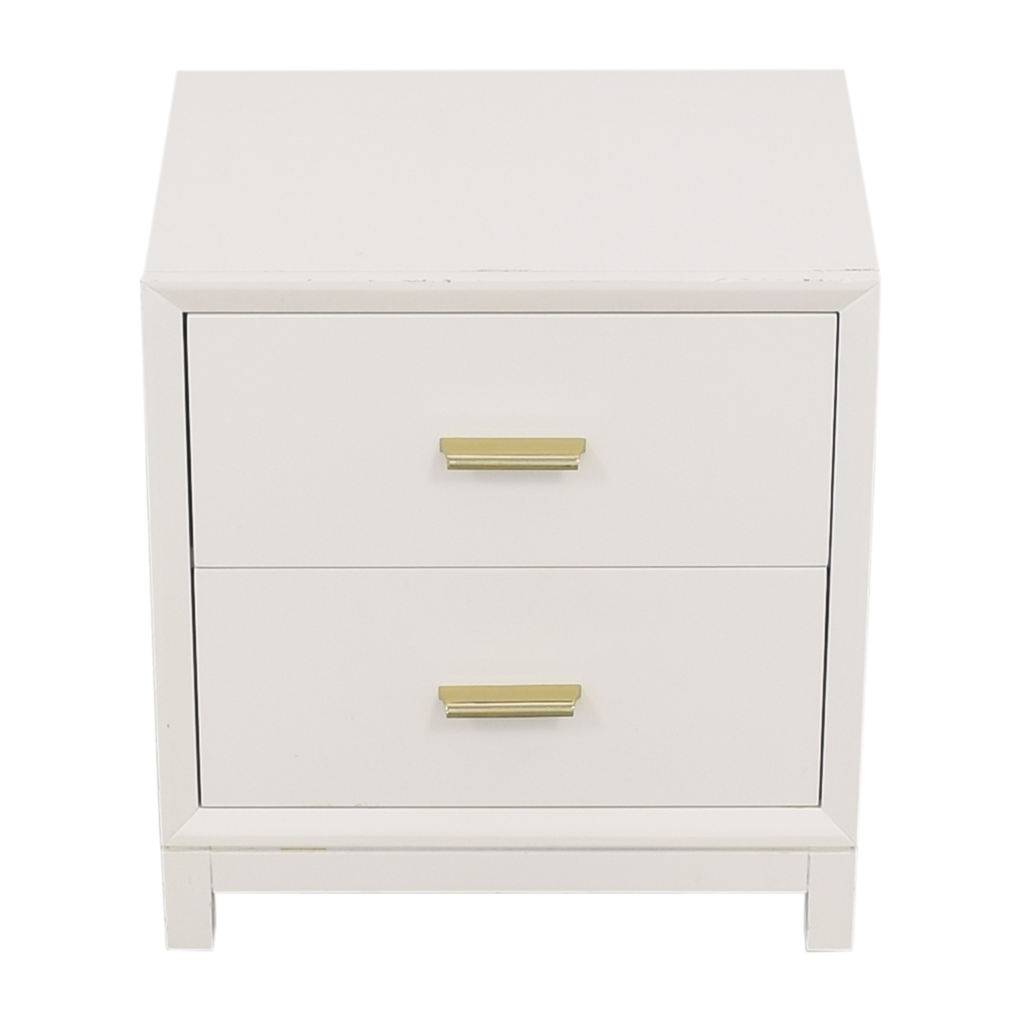 shop PBteen Nightstand with Two Drawers PBteen Tables