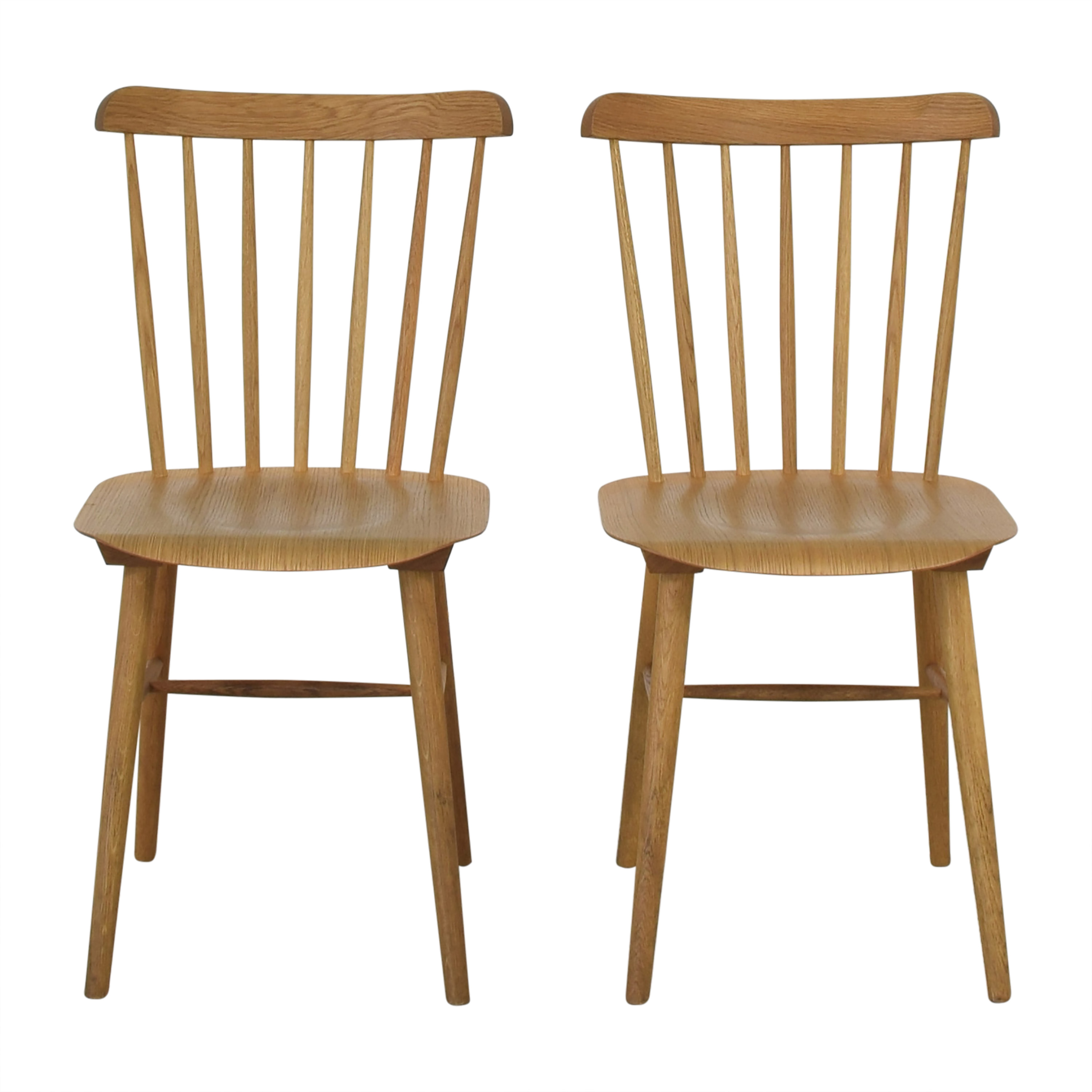 TON TON Ironica Dining Side Chairs dimensions