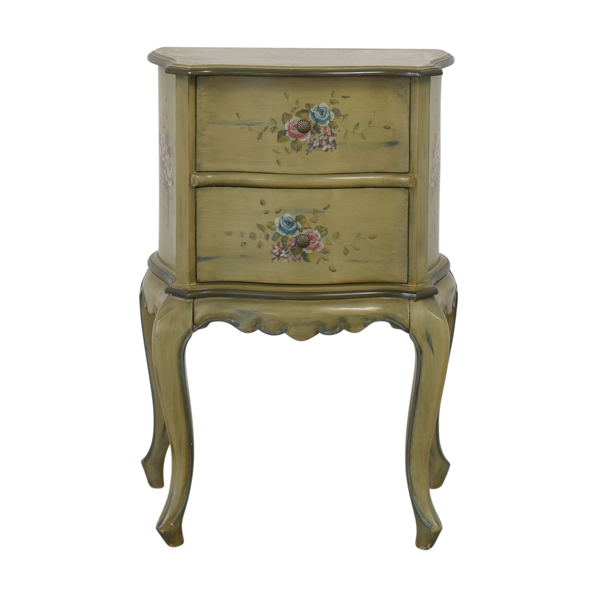 buy Vintage Painted Nightstand