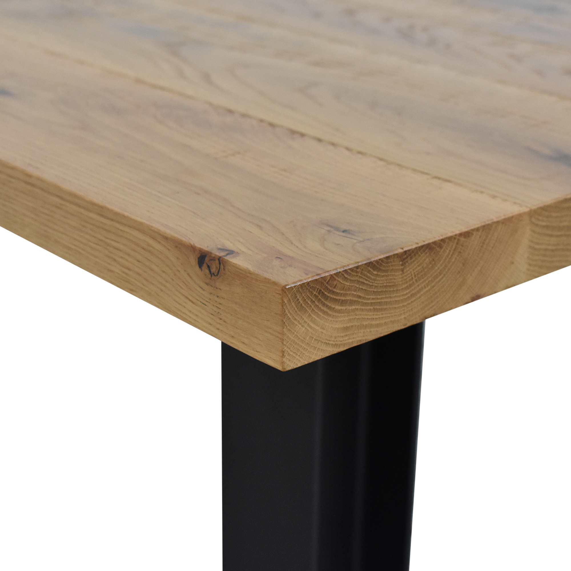 Crow Works Crow Works Fixed I-Beam Square Table pa