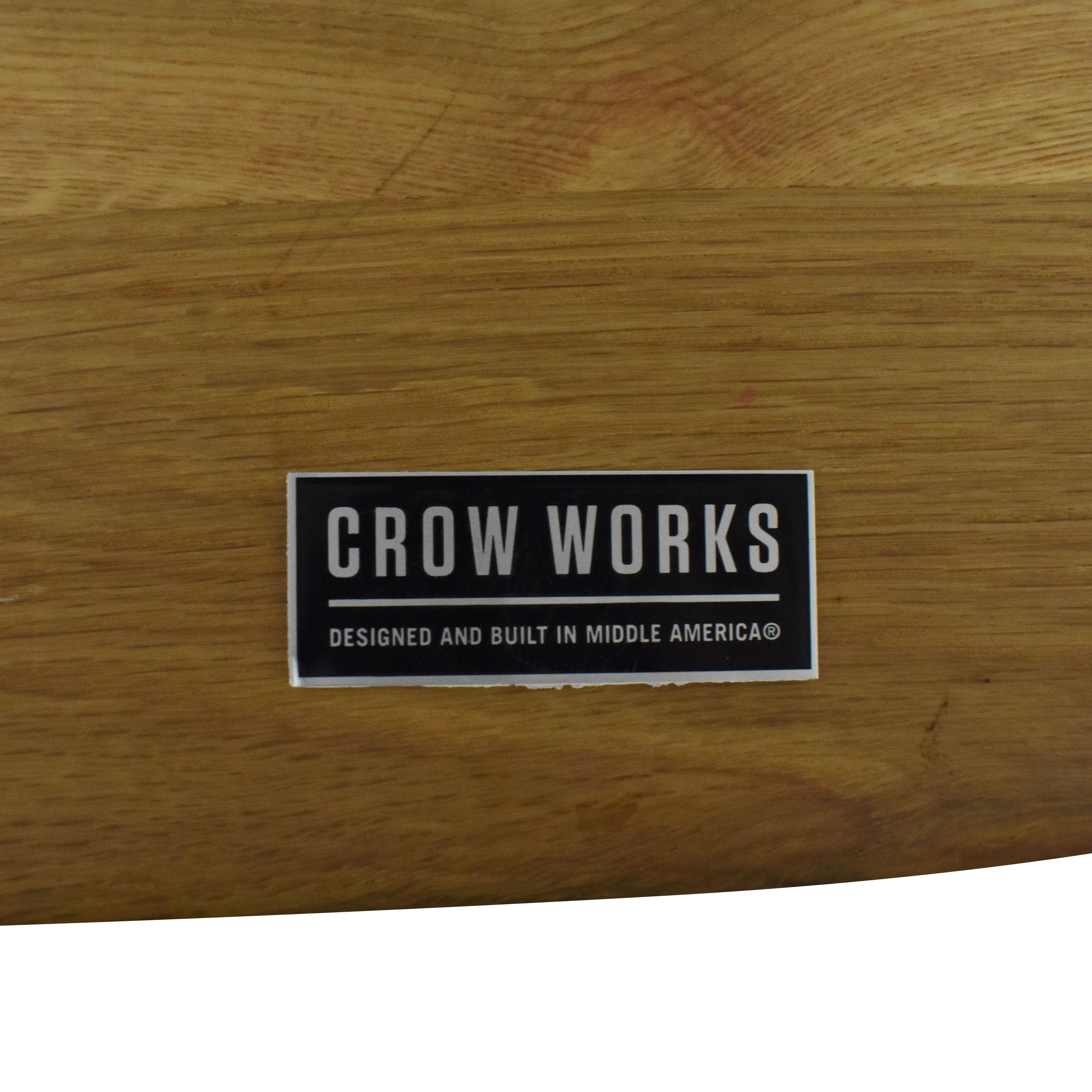 Crow Works Crow Works Fixed I-Beam Square Table used