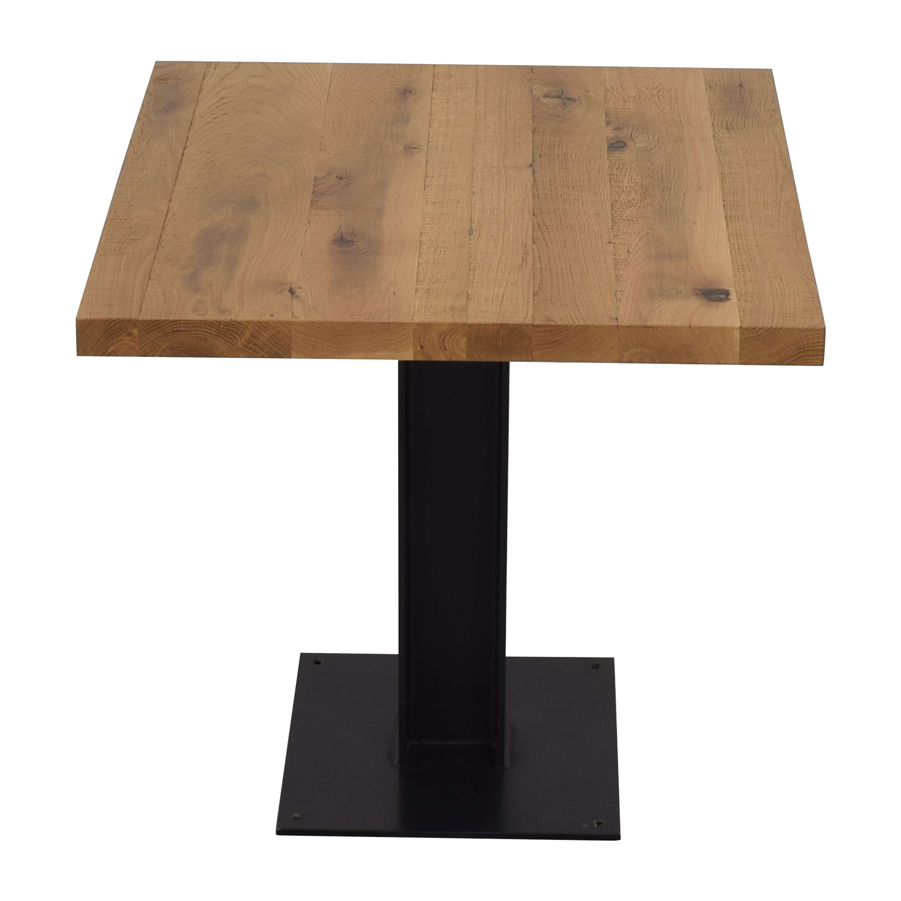 Crow Works Crow Works Fixed I-Beam Square Table nyc