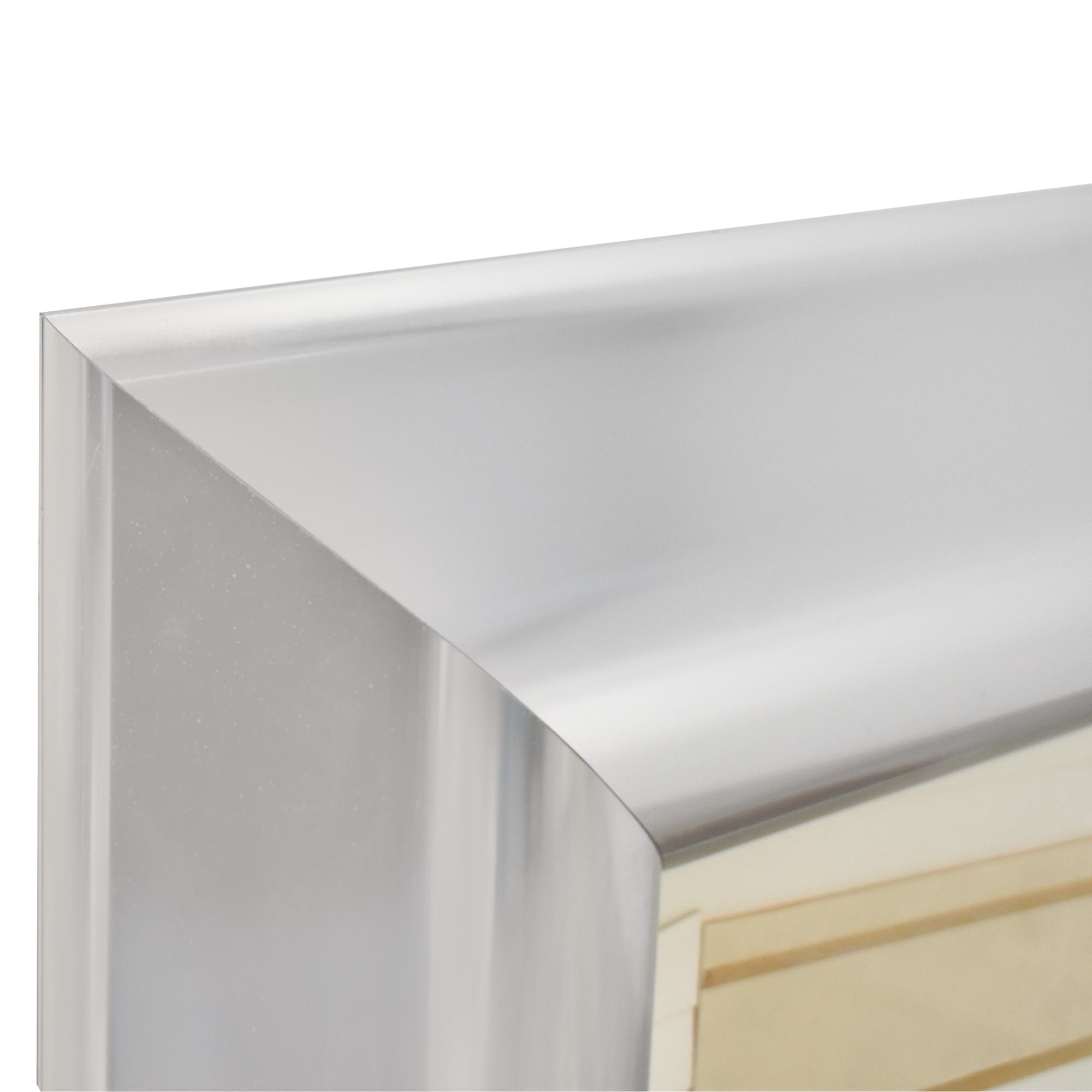 Greg Copeland 1123 Framed Art silver & off white