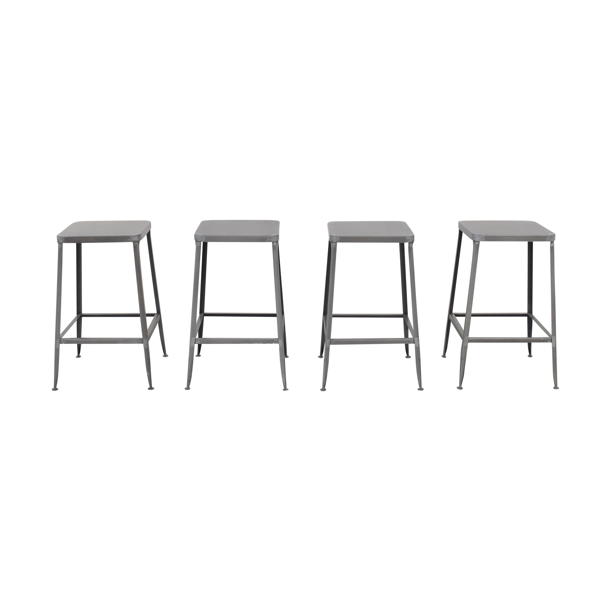 CB2 CB2 Flint Counter Stools second hand