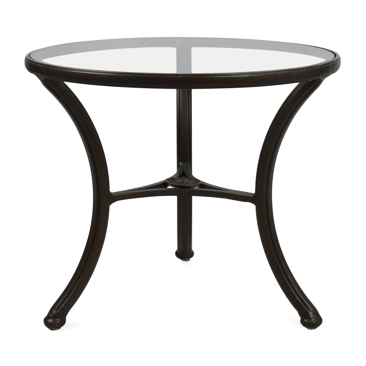 Ethan Allen Ethan Allen Glass Side Table coupon