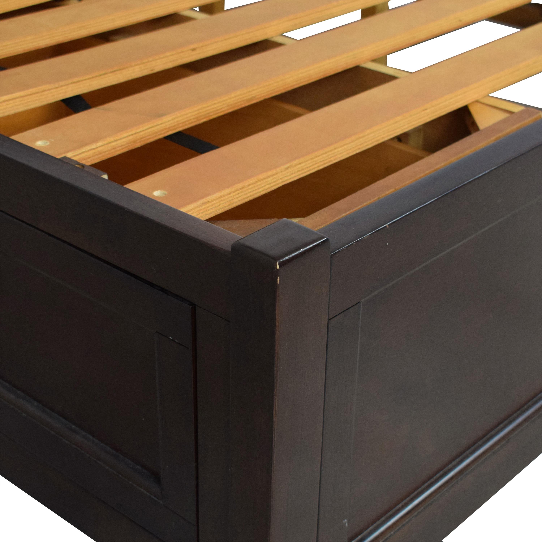 Raymour & Flanigan Raymour & Flanigan Westlake King Storage Platform Bed