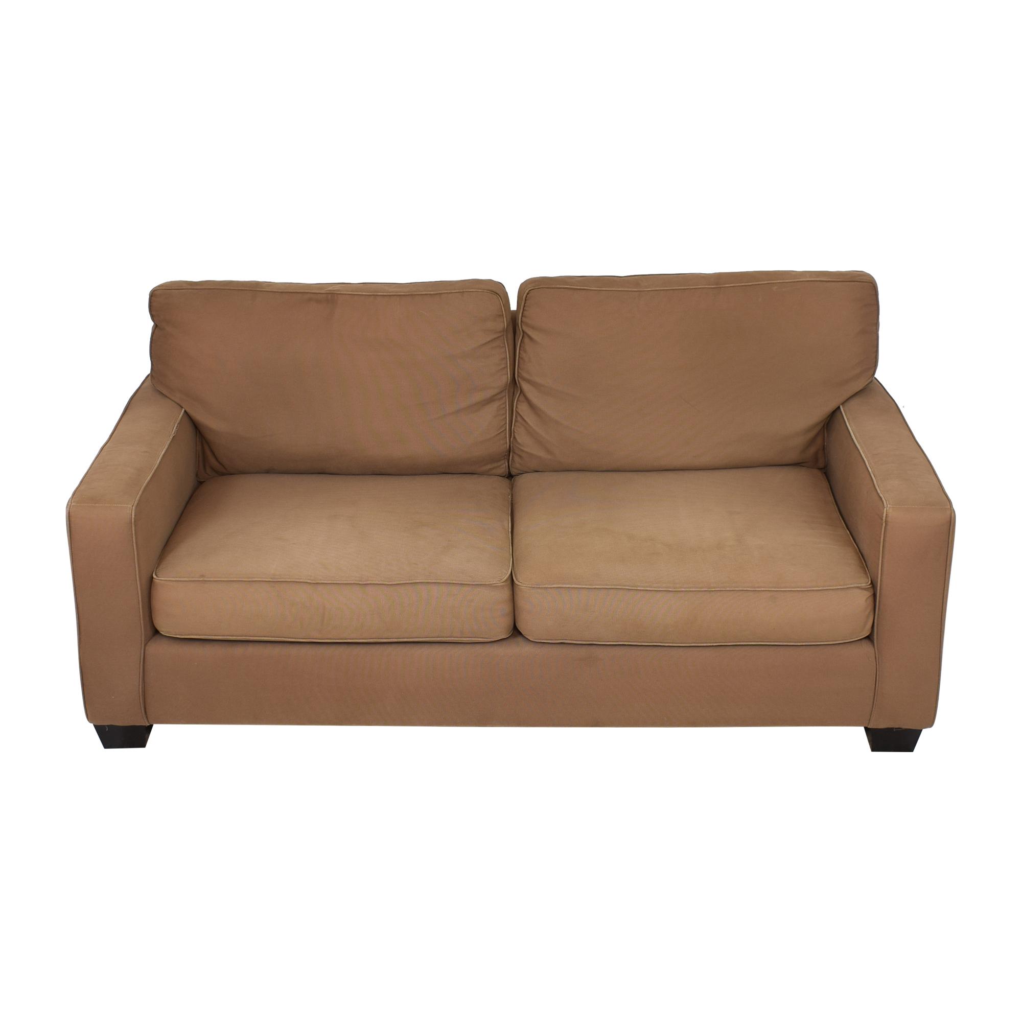 buy Pottery Barn PB Comfort Square Arm Upholstered Sofa Pottery Barn