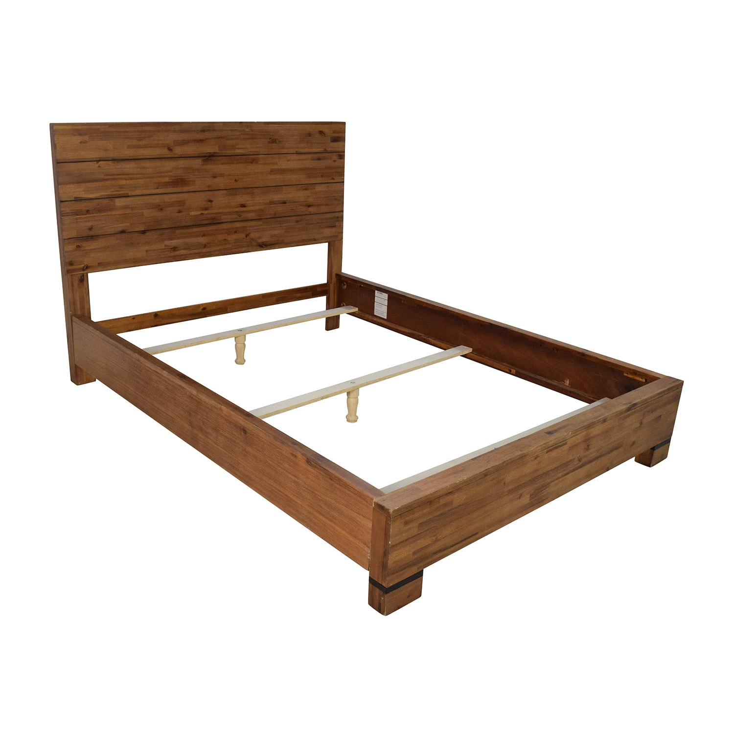 50 off macy s macy s chagne queen bed frame beds 10236 | sell macy s chagne queen bed frame