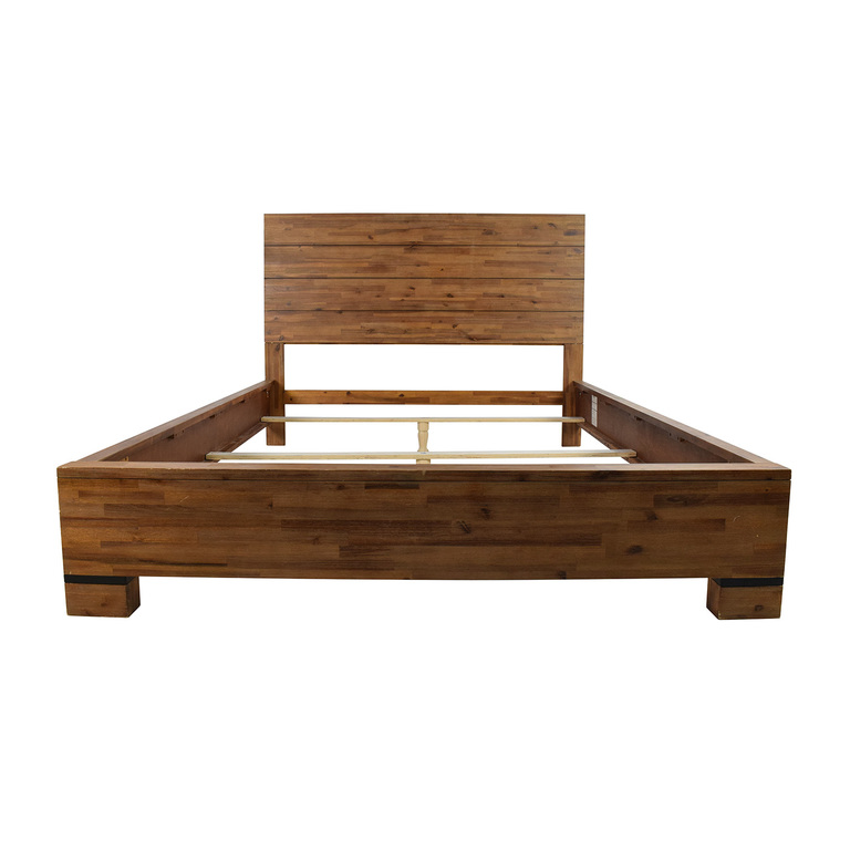 Macy's Macy's Champagne Queen Bed Frame  used