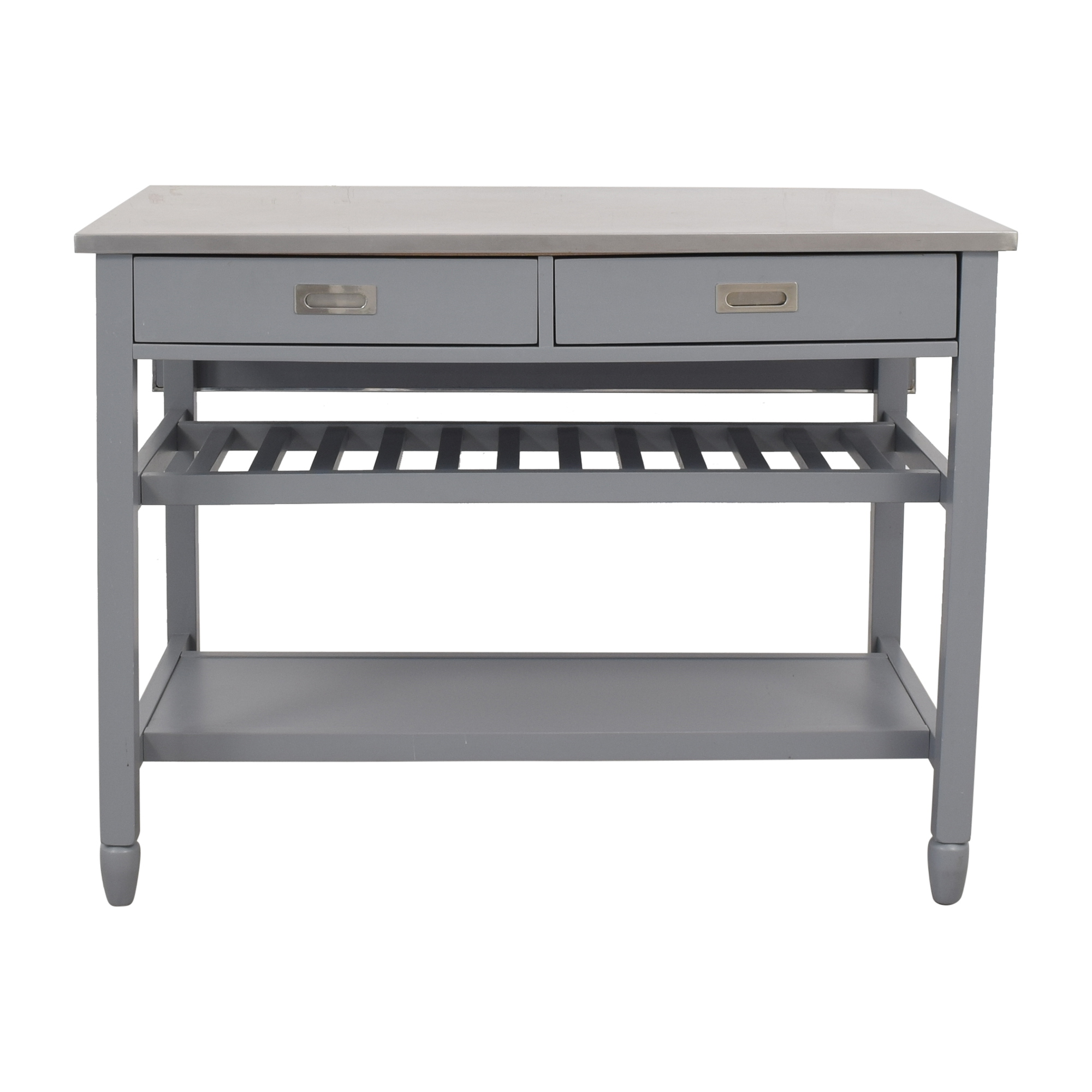 Crate & Barrel Crate & Barrel Belmont Open Kitchen Island pa
