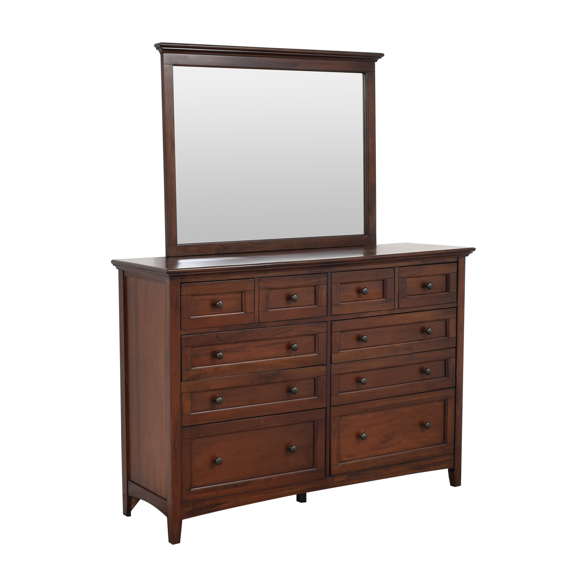 shop A-America Westlake Bedroom Dresser with Mirror A-America Wood Furniture Dressers