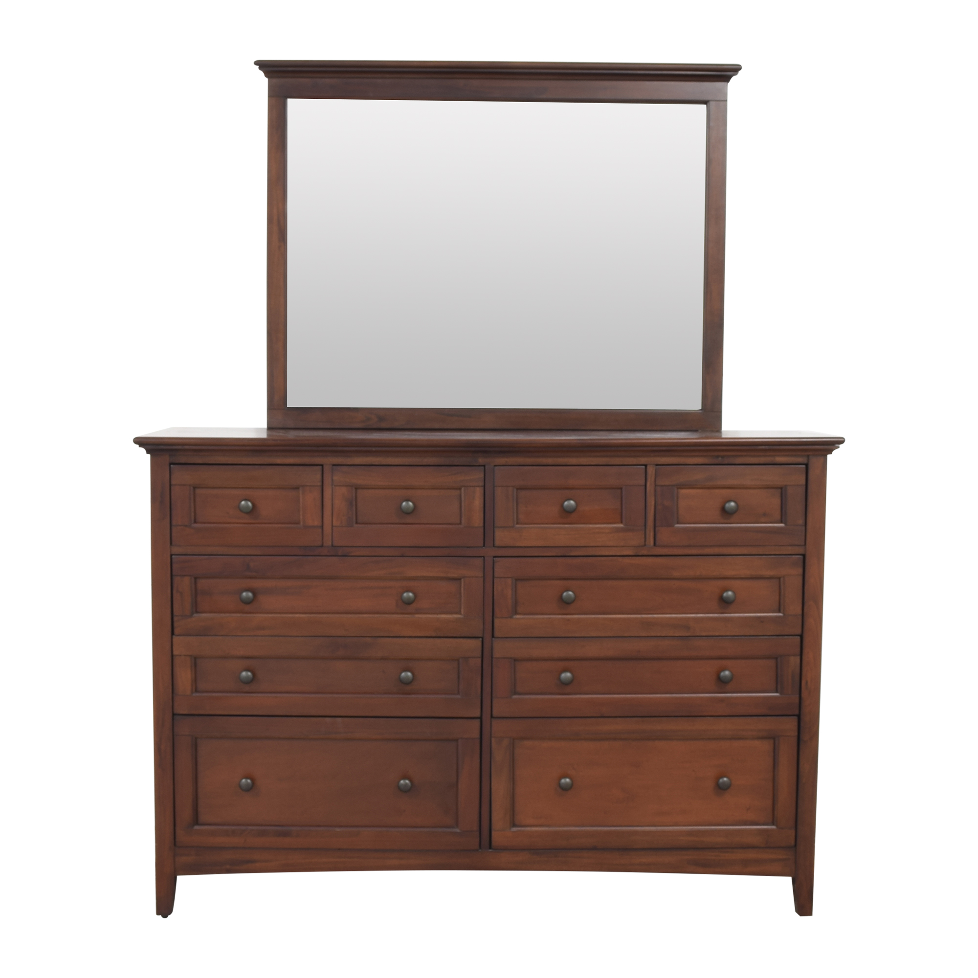 buy A-America Wood Furniture A-America Westlake Bedroom Dresser with Mirror online