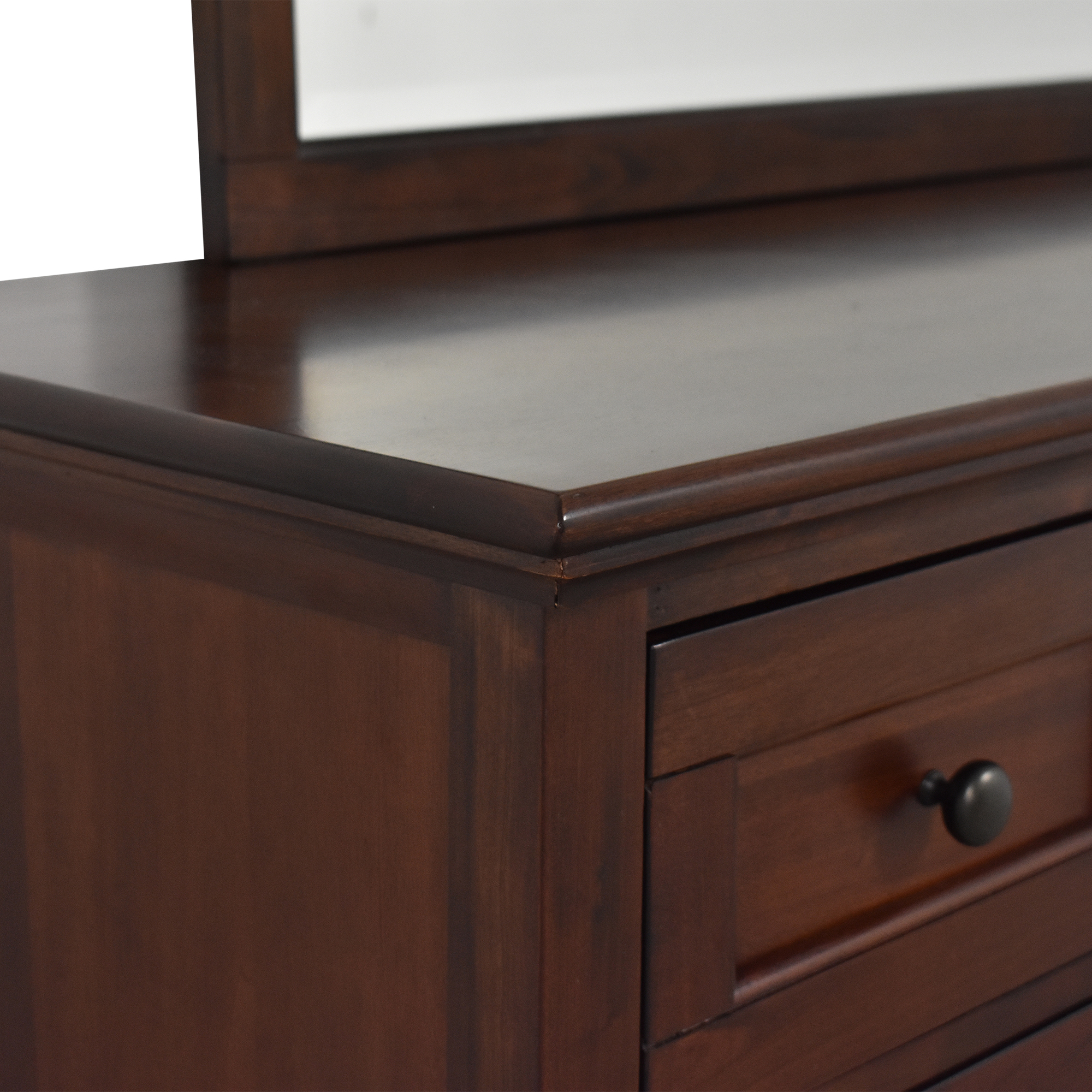 A-America Wood Furniture A-America Westlake Bedroom Dresser with Mirror for sale