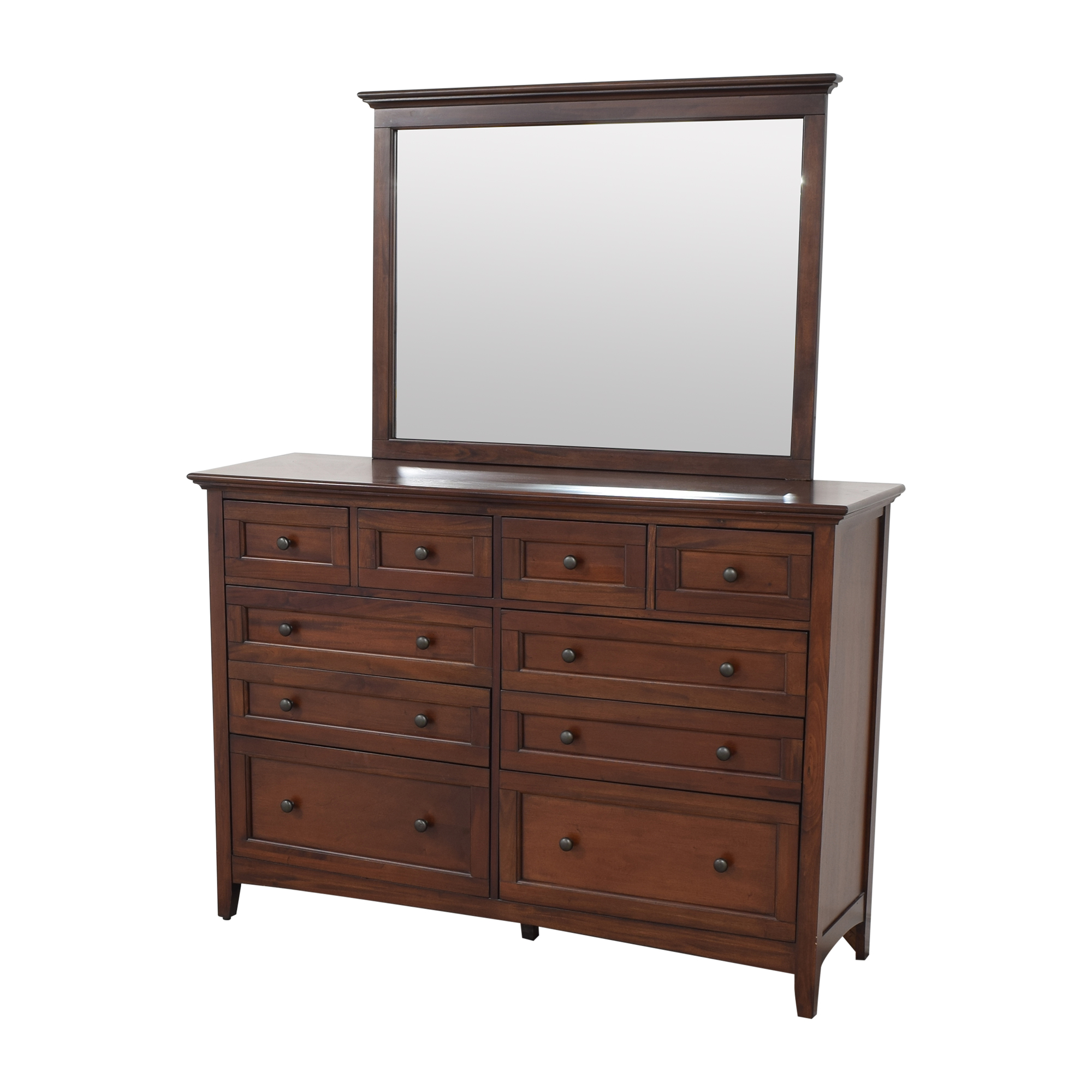buy A-America Westlake Bedroom Dresser with Mirror A-America Wood Furniture