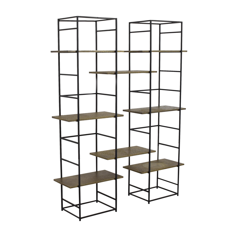 shop World Market Floating Shelf Bookcase World Market Bookcases & Shelving