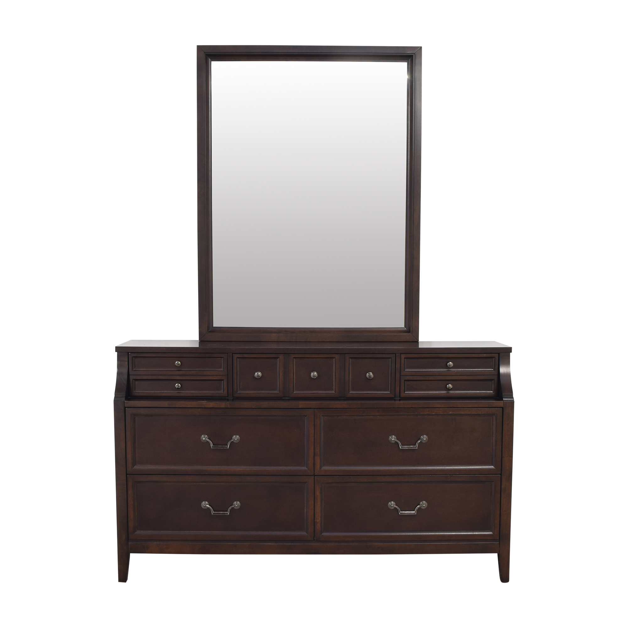 Najarian Furniture Najarian Furniture Newport Dresser and Mirror