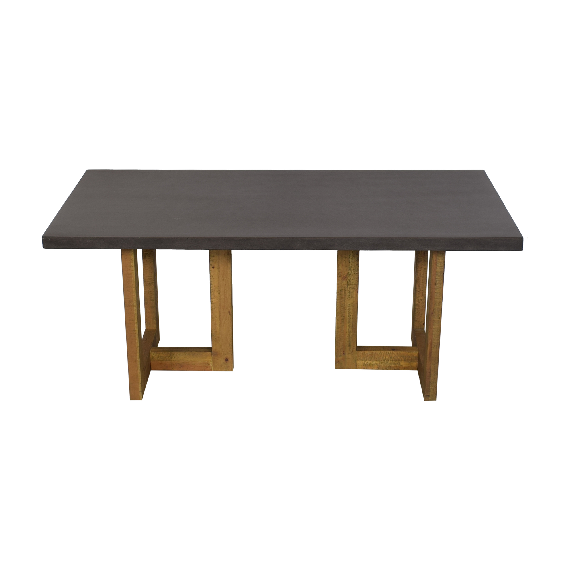 West Elm West Elm Ashton Lava Top Dining Table used