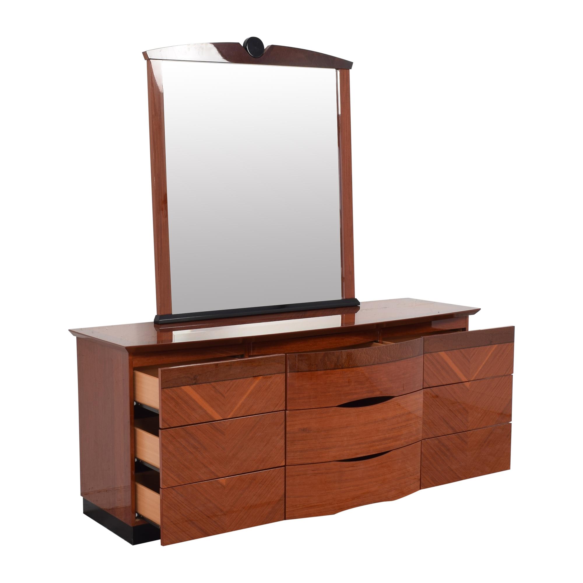 buy Custom Dresser with Mirror  Storage