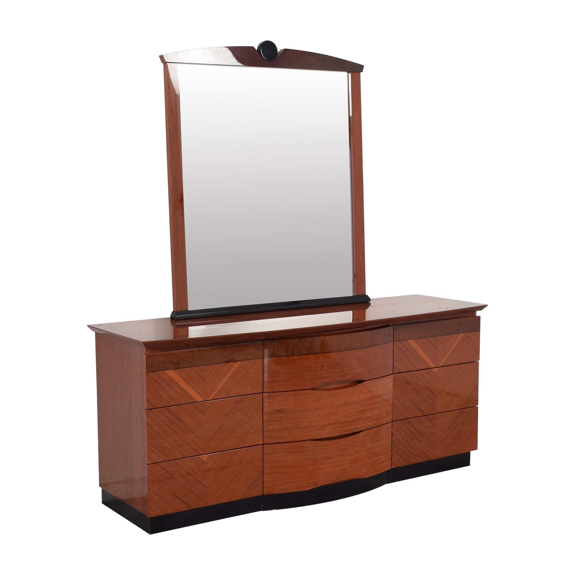 Custom Dresser with Mirror dimensions