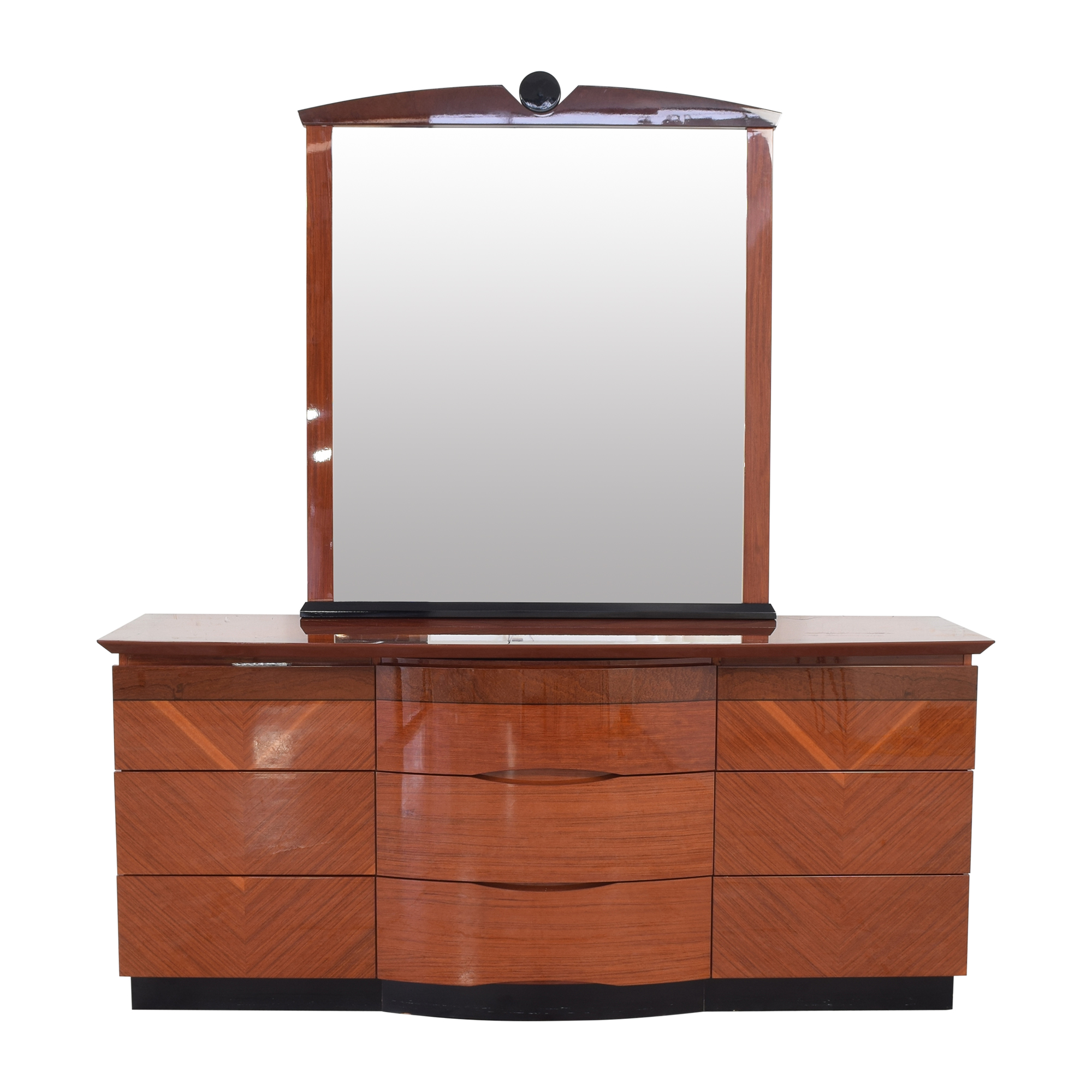 Custom Dresser with Mirror second hand