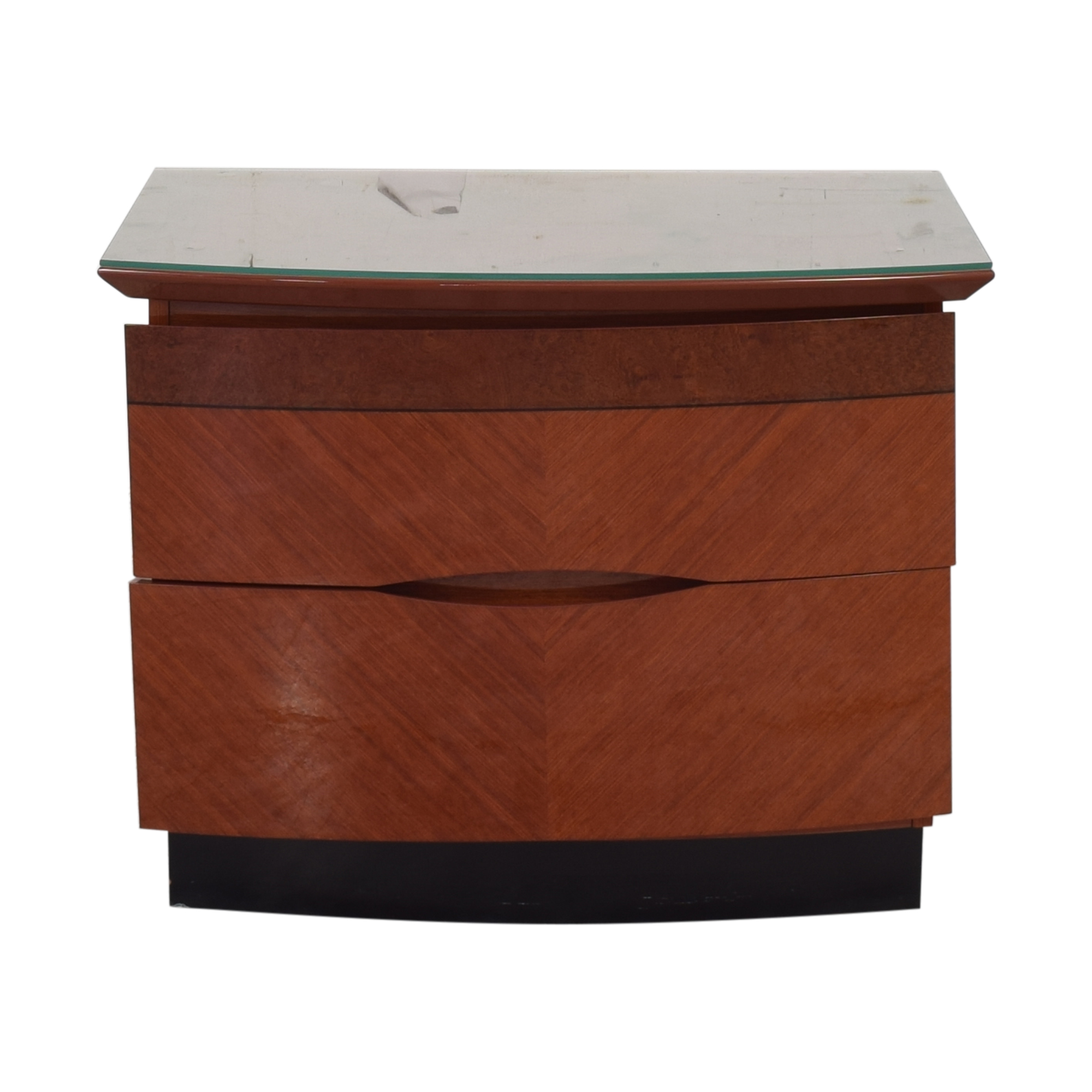 Two Drawer Nightstand pa