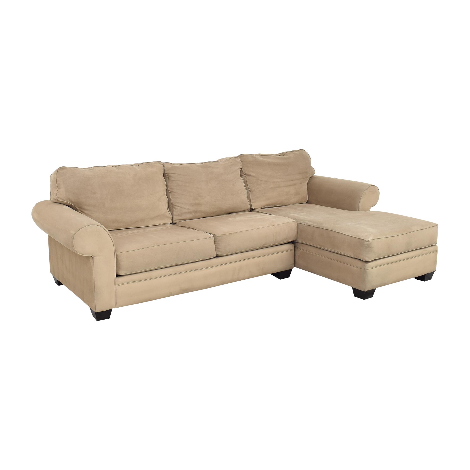 Jonathan Louis Chaise Sectional Sofa sale