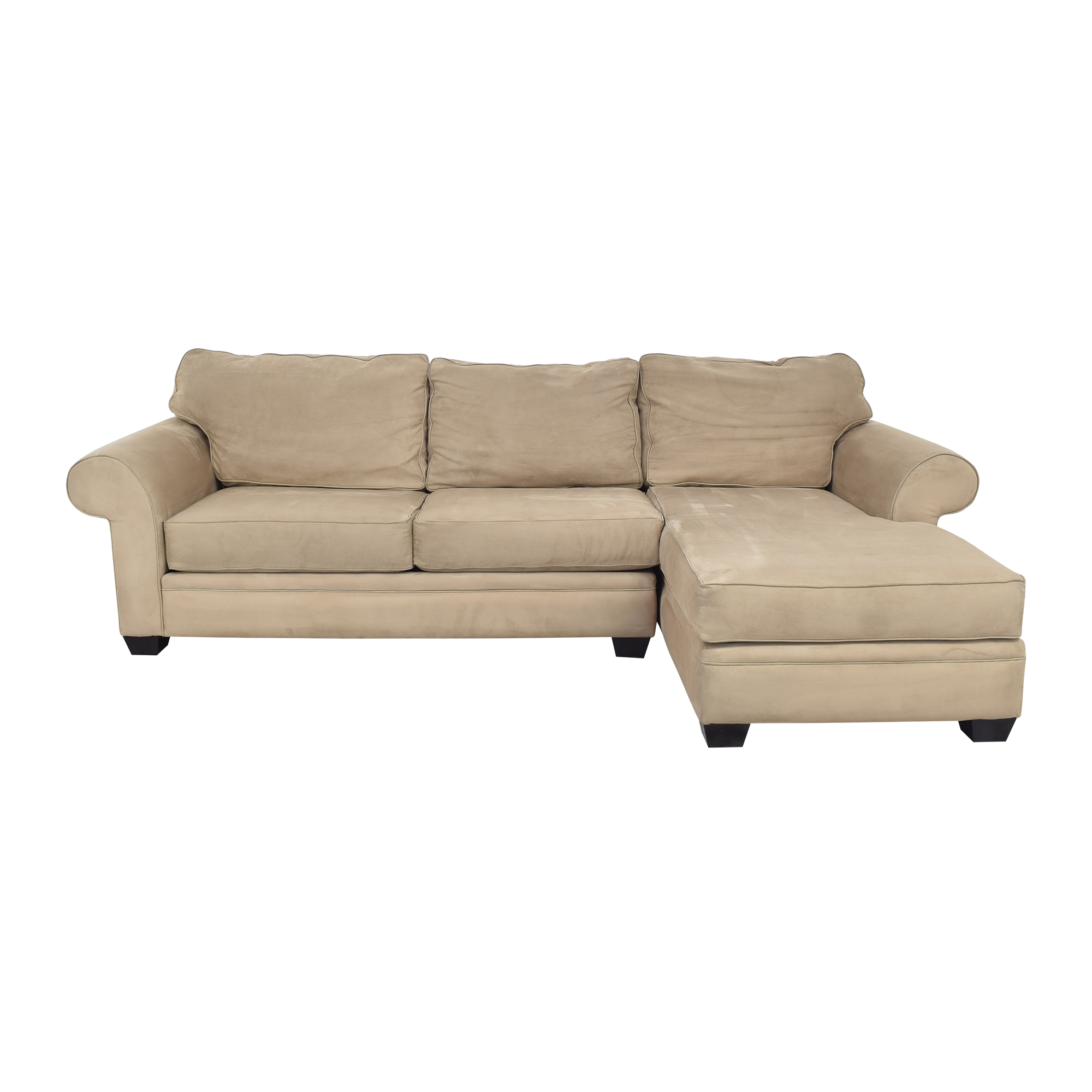 Macy's Jonathan Louis Chaise Sectional Sofa ma