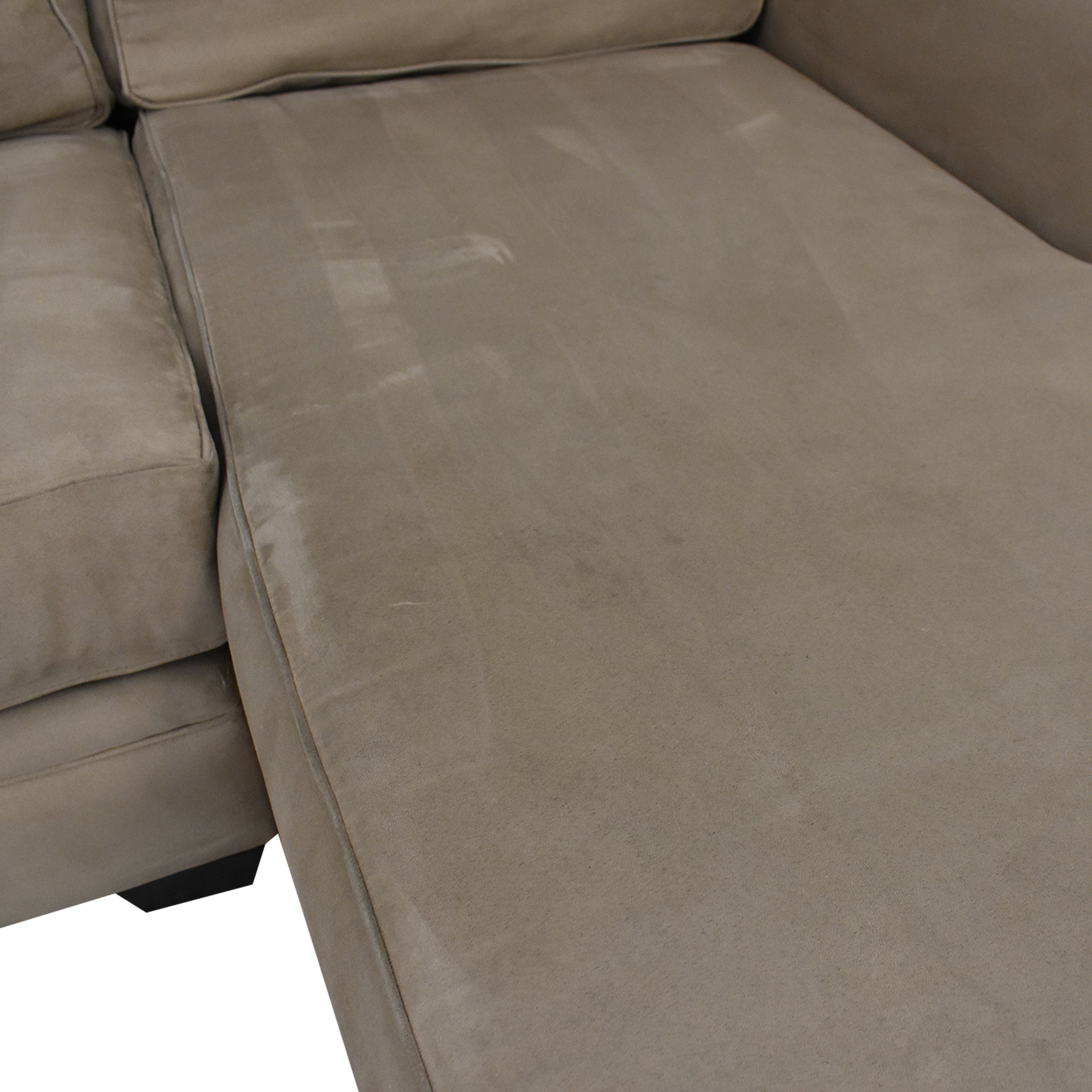 Macy's Jonathan Louis Chaise Sectional Sofa ma