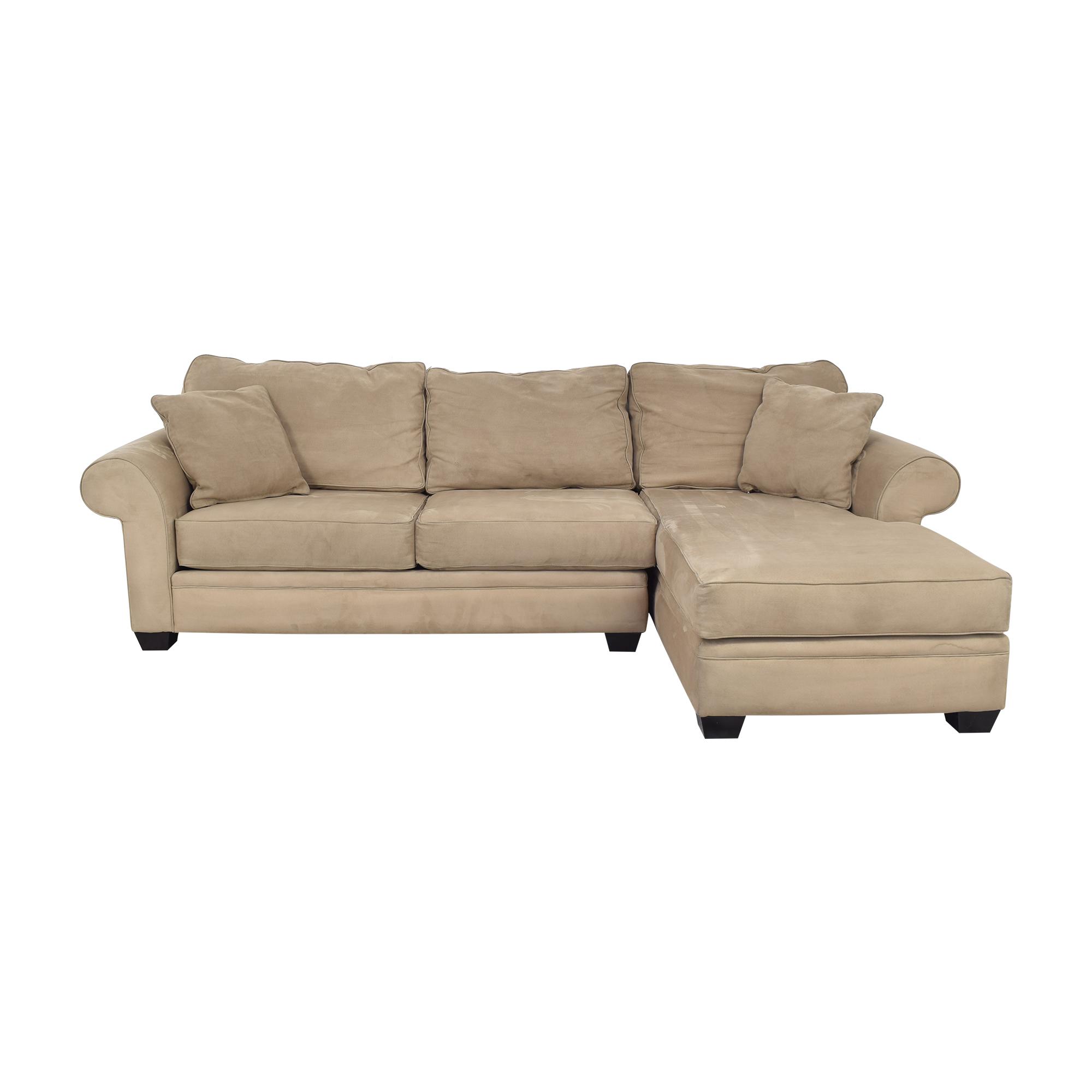 buy Jonathan Louis Chaise Sectional Sofa Macy's Sofas
