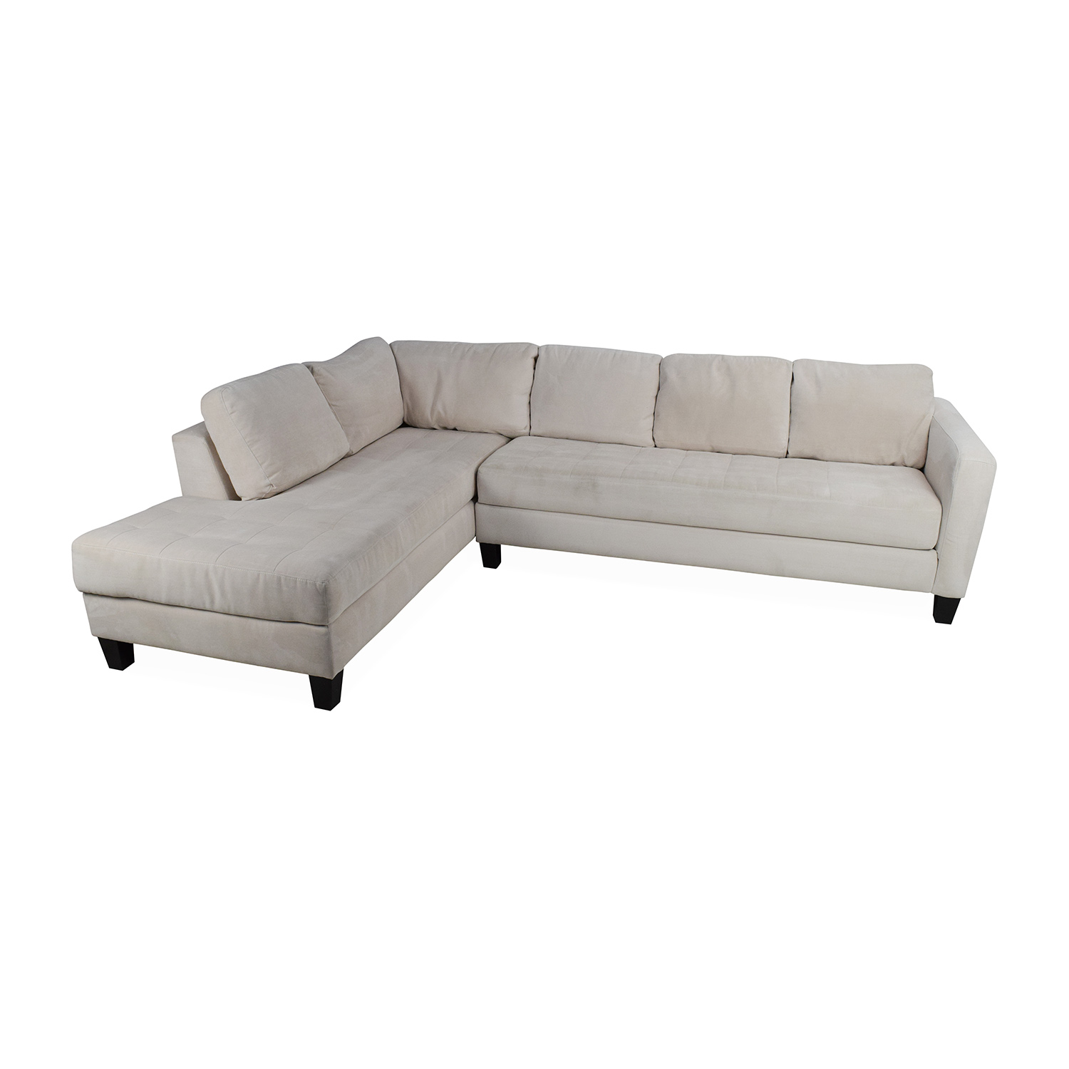 65% OFF Macy s Macy s Milo Fabric Microfiber Sectional Sofas