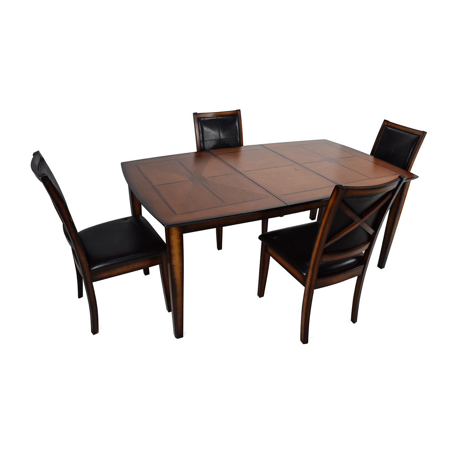 59% OFF   Raymour U0026 Flanigan Raymour U0026 Flanigan Denver 5 Piece Extendable  Dining Set / Tables