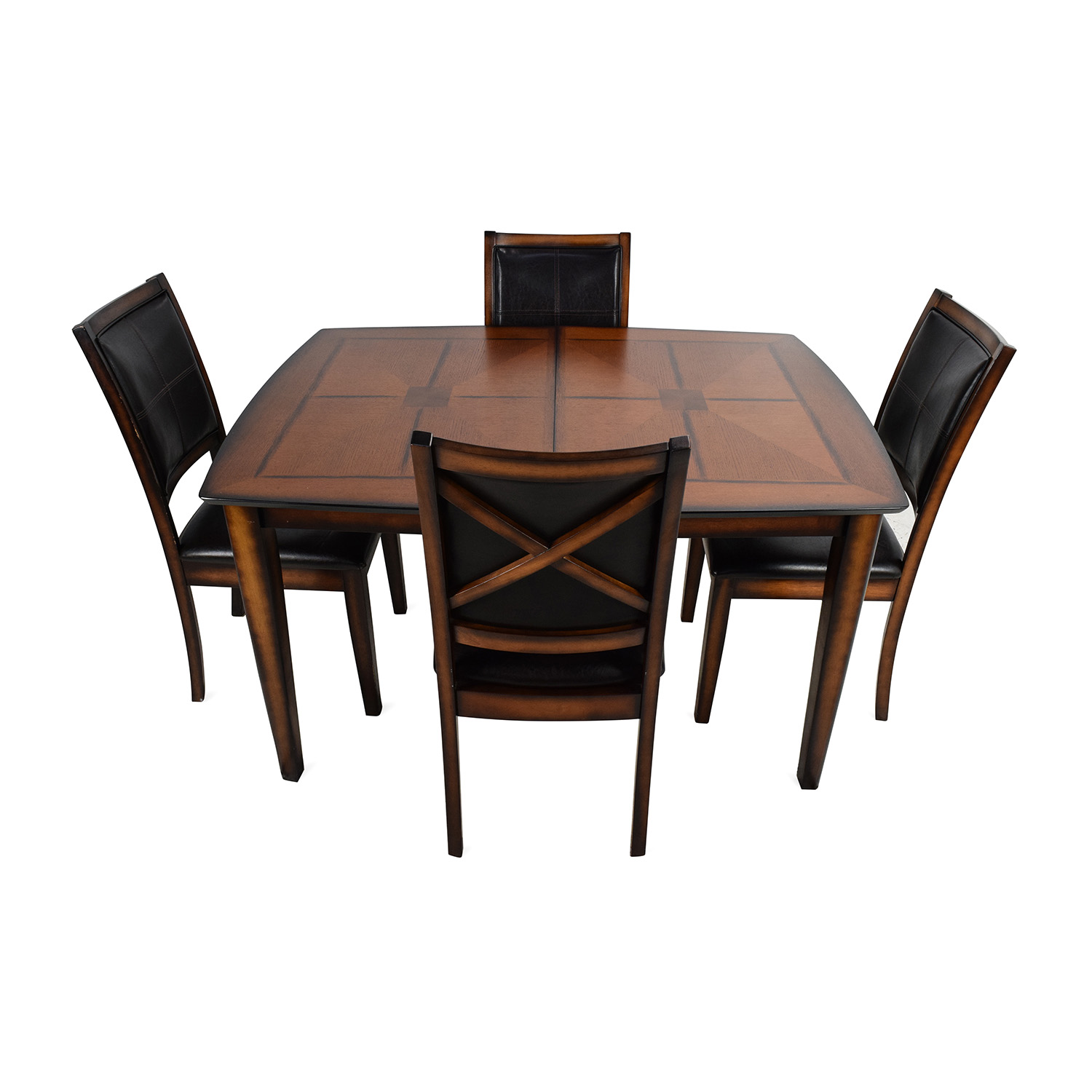 ... Shop Raymour U0026 Flanigan Denver 5 Piece Extendable Dining Set Raymour  And Flanigan ...