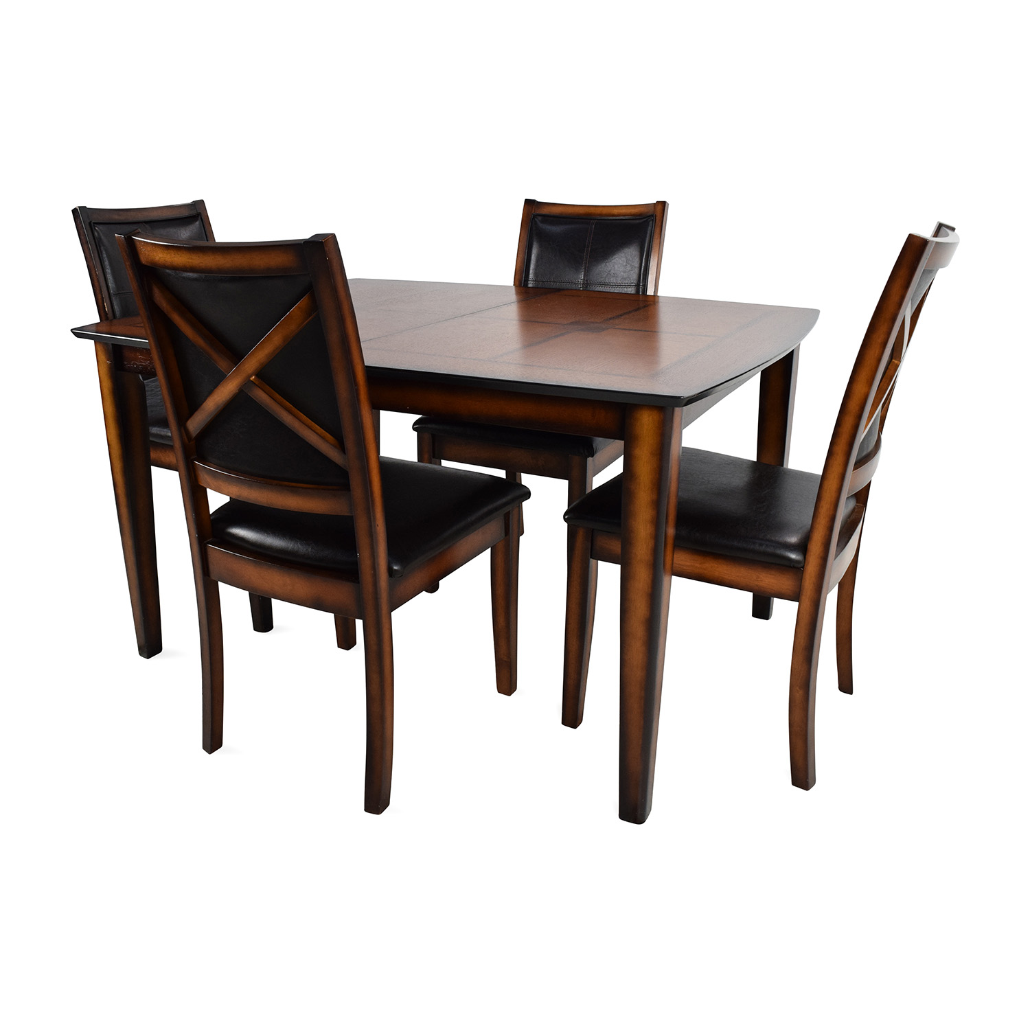 Shop Raymour U0026 Flanigan Denver 5 Piece Extendable Dining Set Raymour And  Flanigan Tables