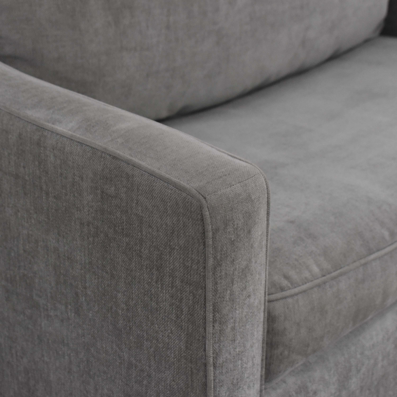 West Elm West Elm Paidge Chair and a Half Twin Sleeper Sofa Beds