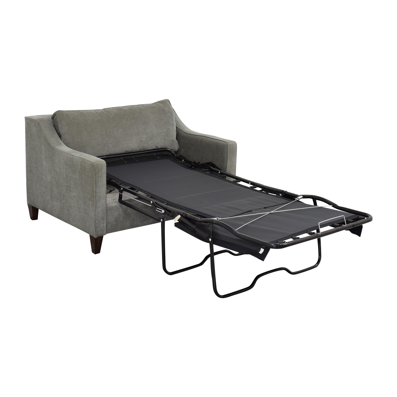 shop West Elm West Elm Paidge Chair and a Half Twin Sleeper online