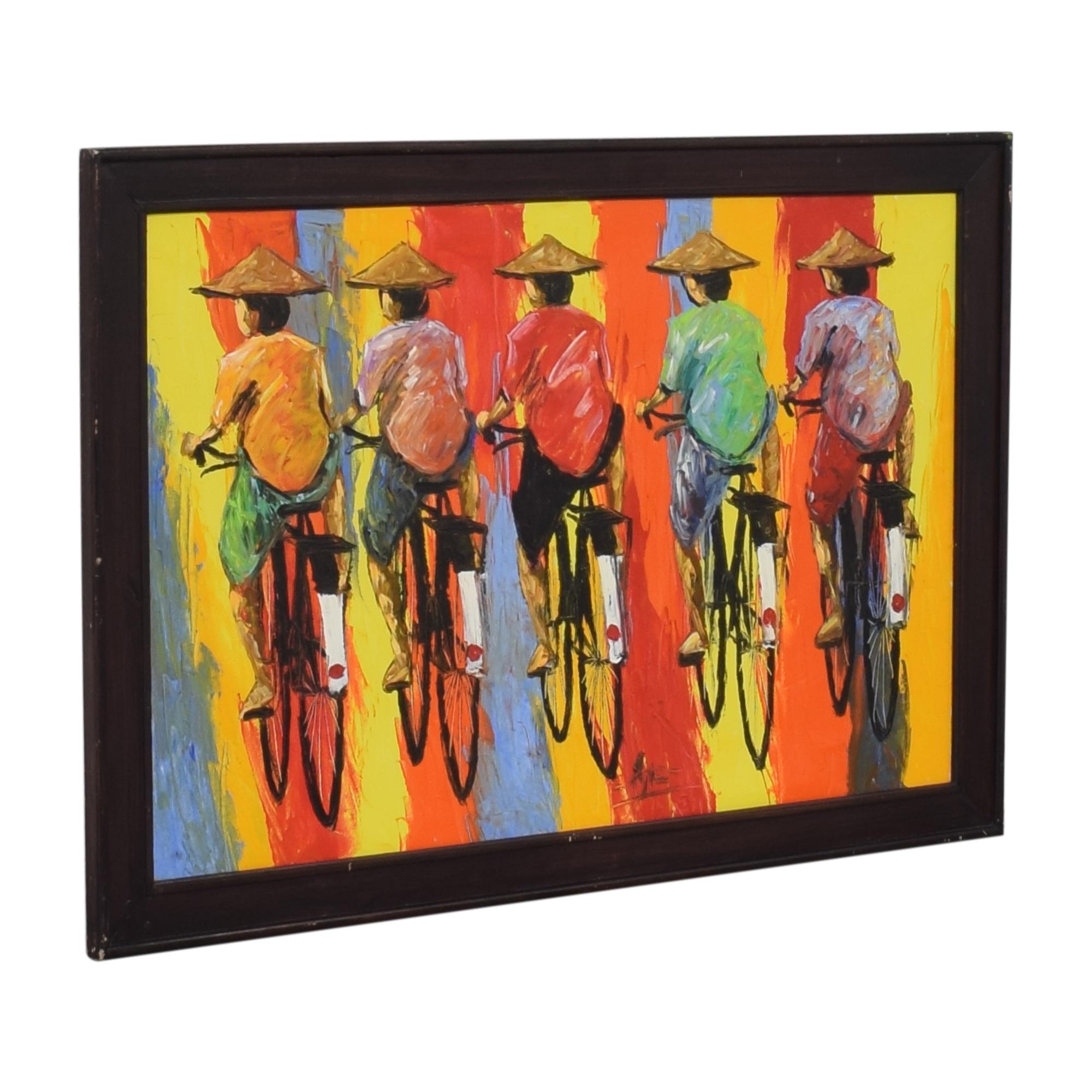 Original Cyclist Art used