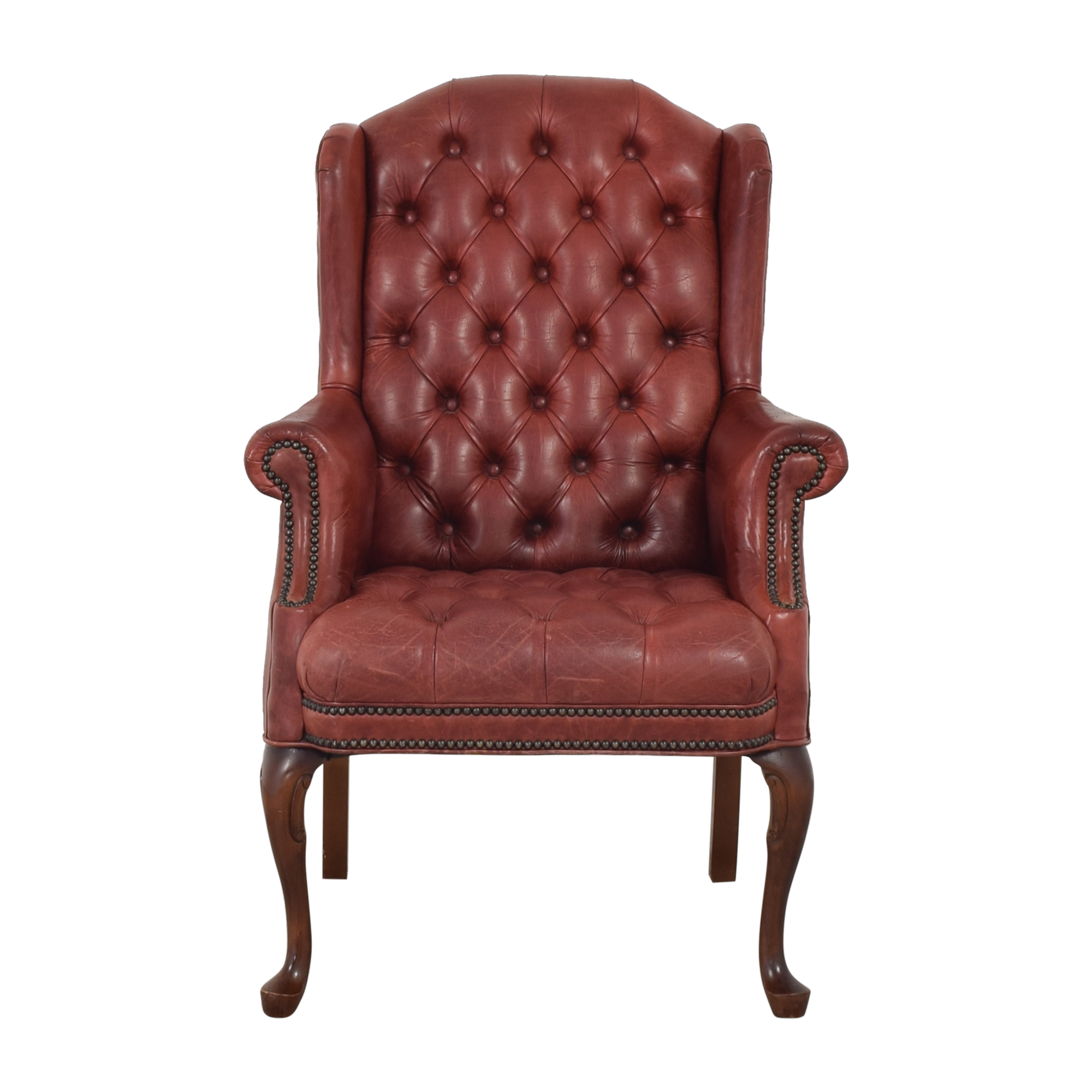 Wingback Tufted Armchair discount