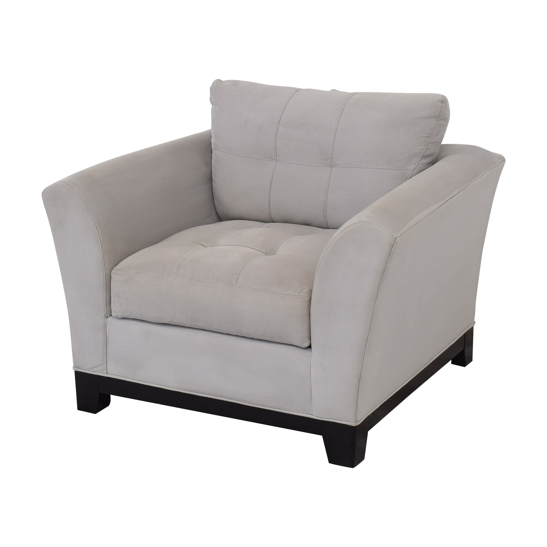 Raymour & Flanigan Raymour & Flanigan Lounge Chair for sale