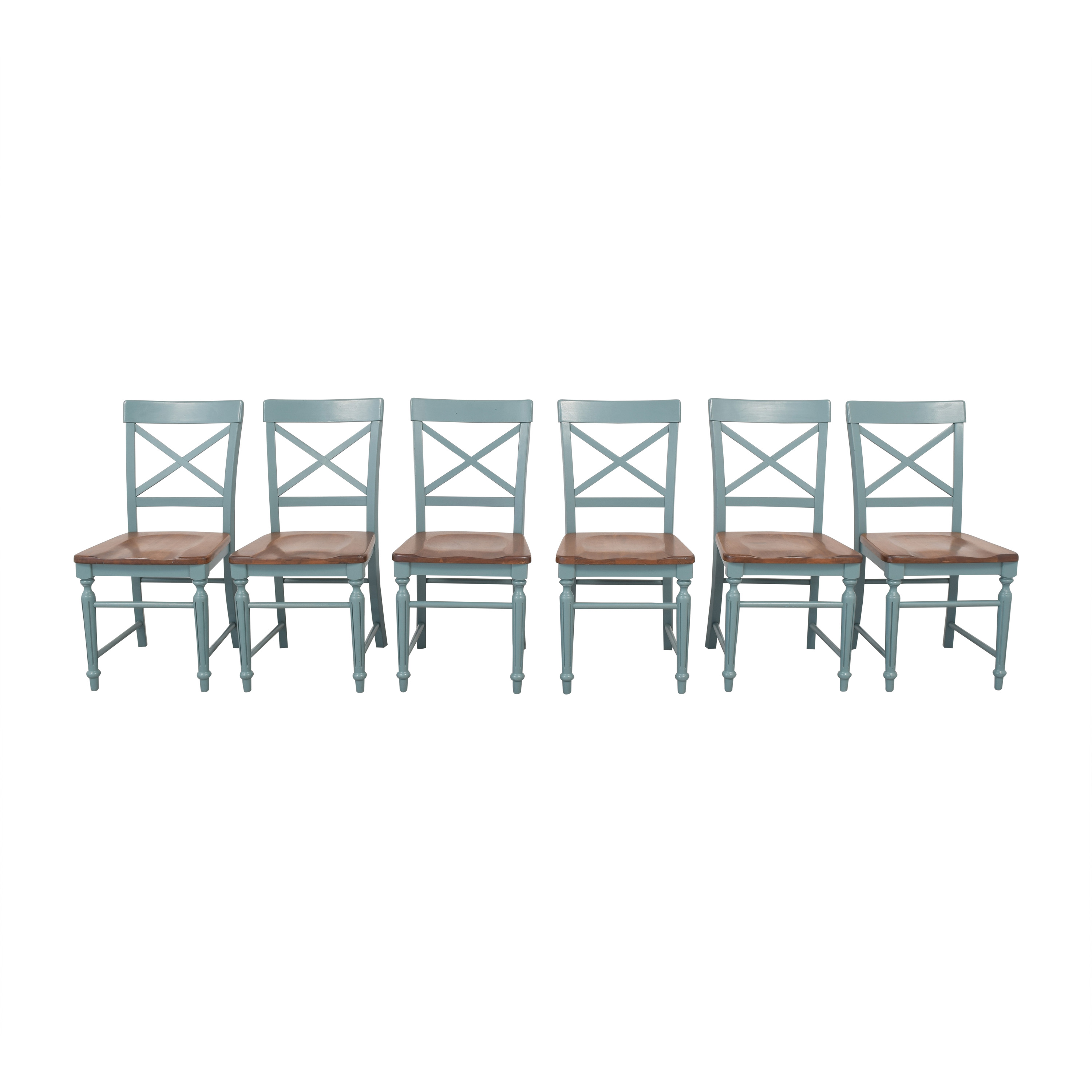 Cross Back Dining Chairs / Chairs