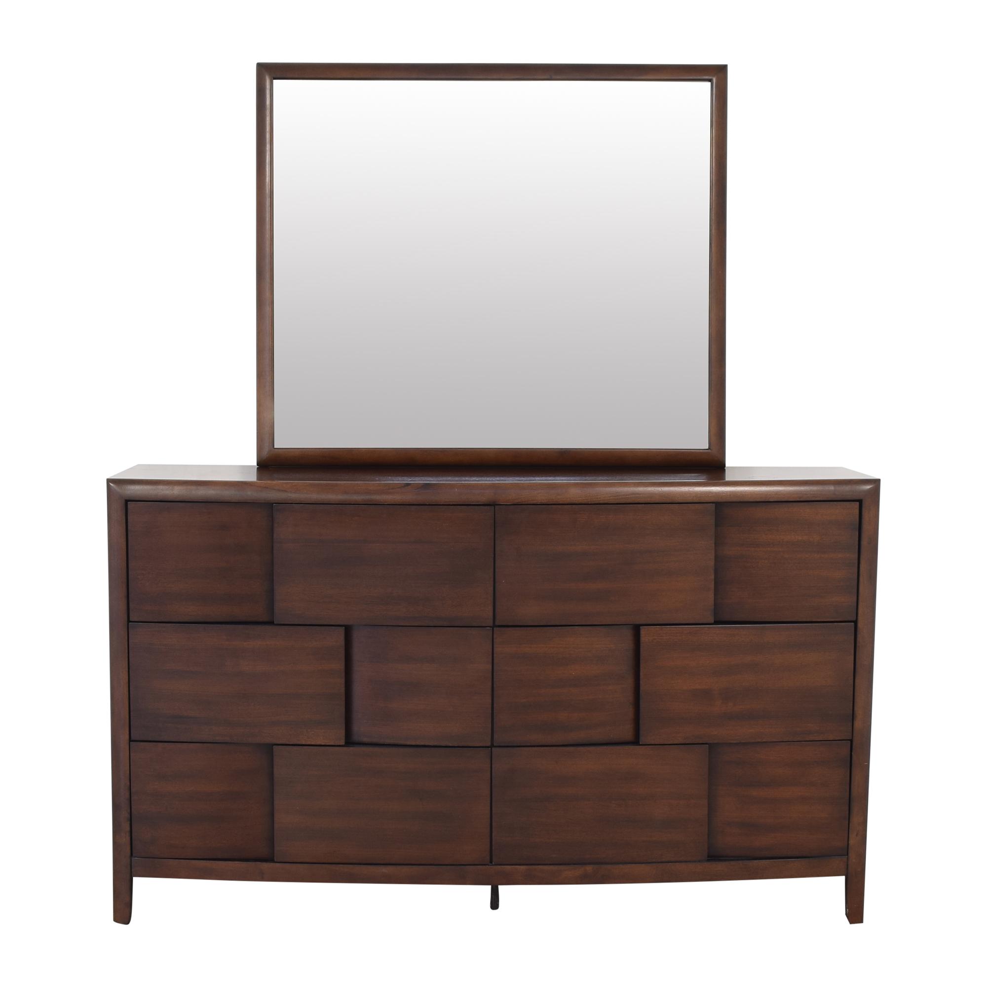 buy Magnussen Home Dresser with Mirror Magnussen Home Storage