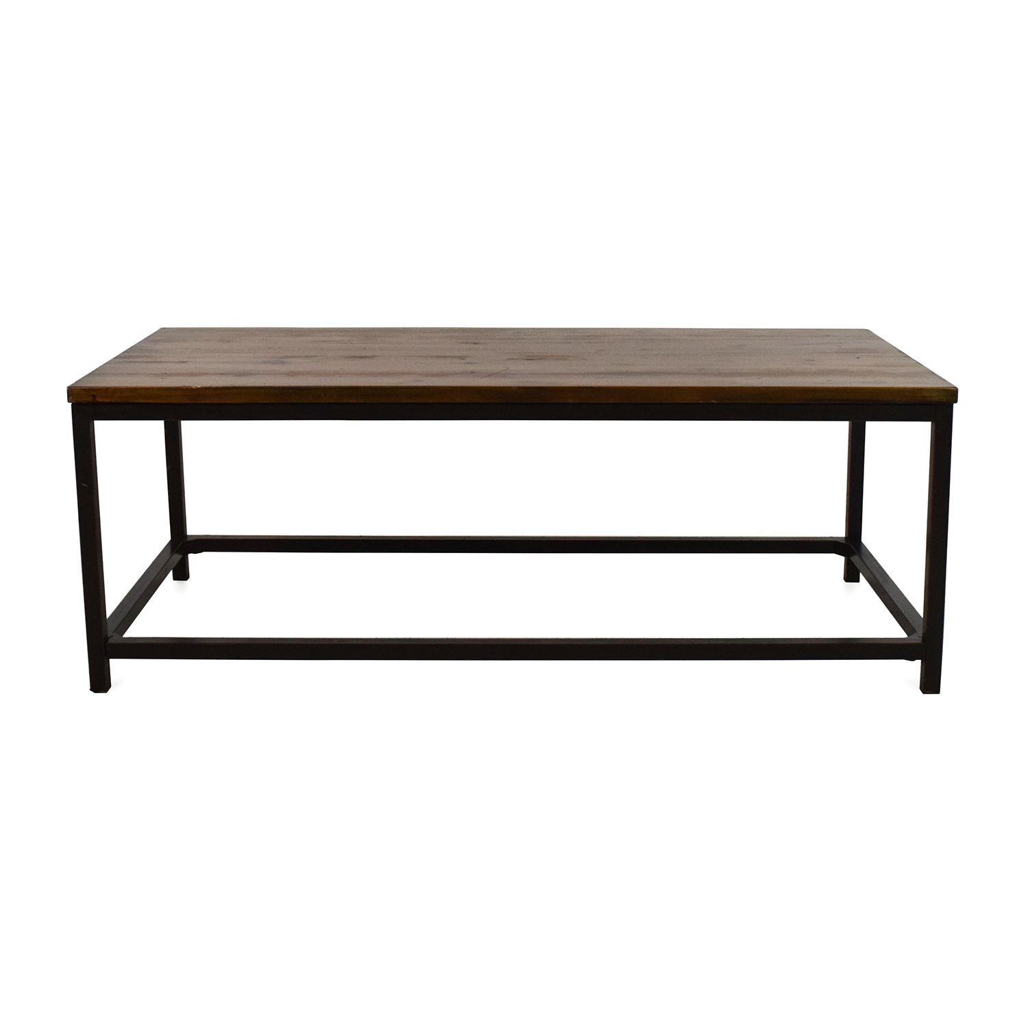 58% OFF   Pottery Barn Pottery Barn Wood Coffee Table / Tables