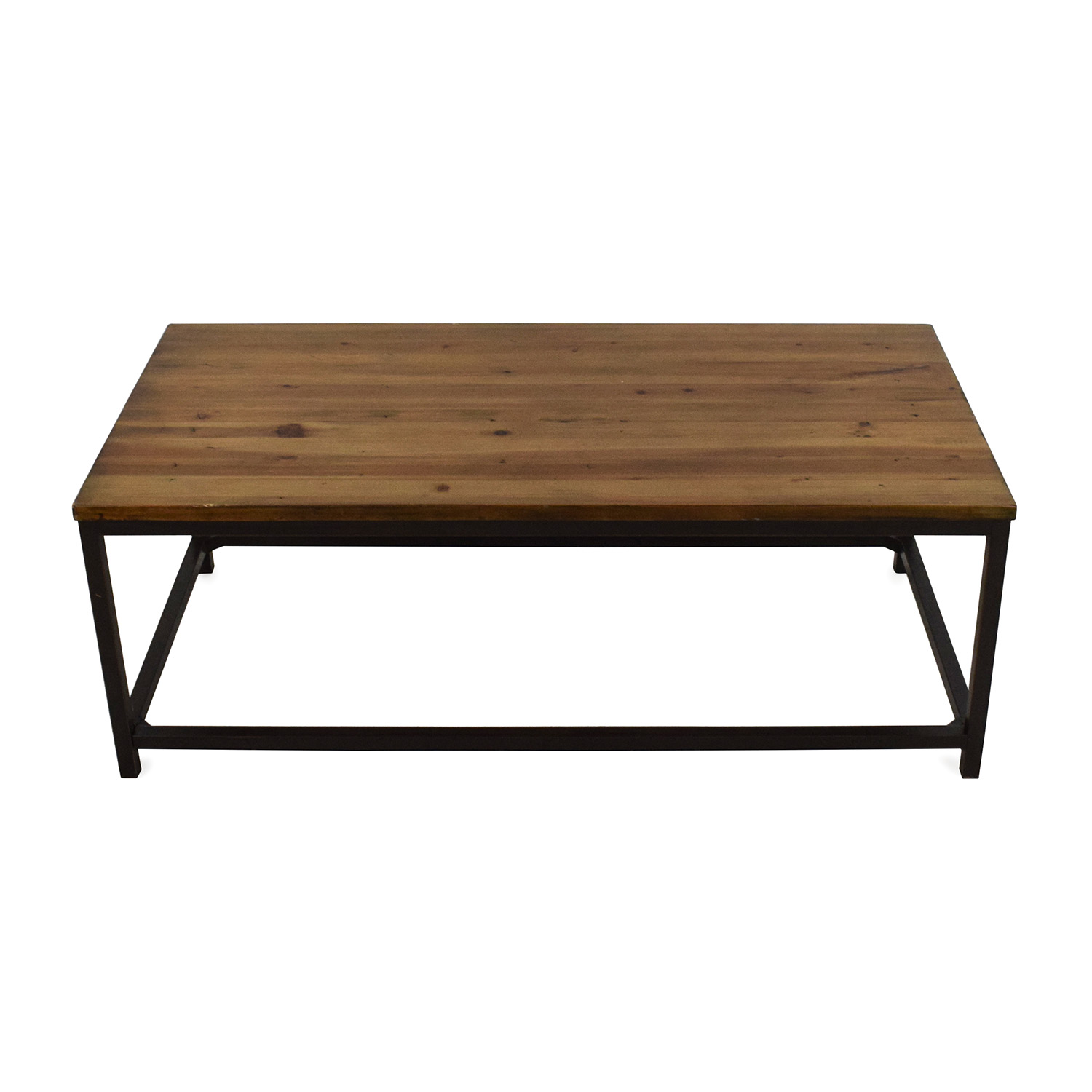 Pottery Barn Wood Coffee Table sale